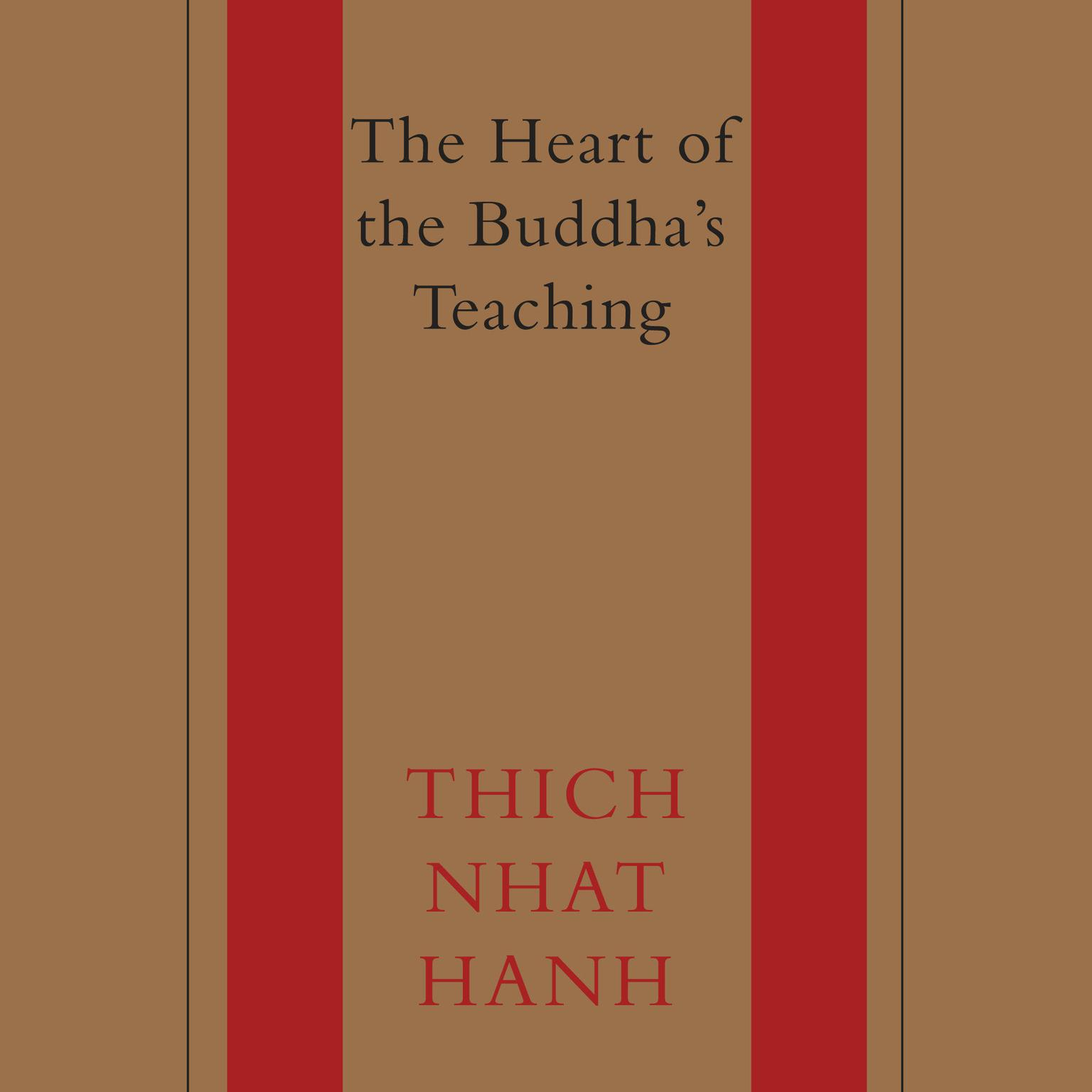 Printable The Heart of the Buddha's Teaching: Transforming Suffering into Peace, Joy, and Liberation Audiobook Cover Art