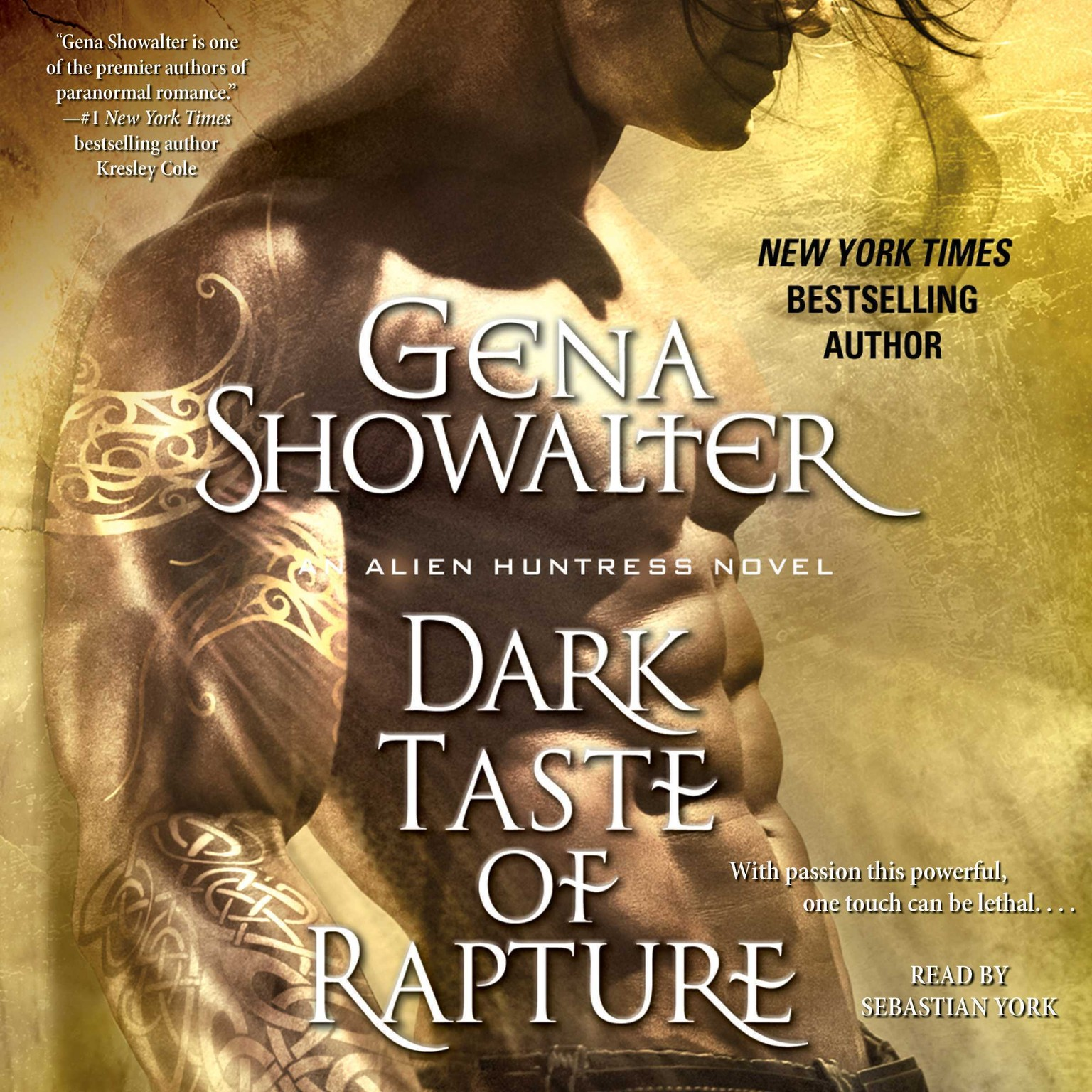 Printable Dark Taste of Rapture Audiobook Cover Art