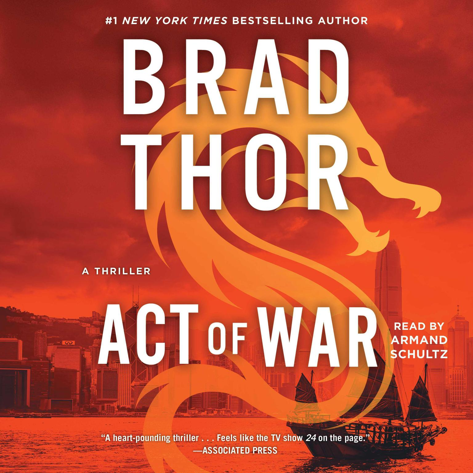 Printable Act of War: A Thriller Audiobook Cover Art