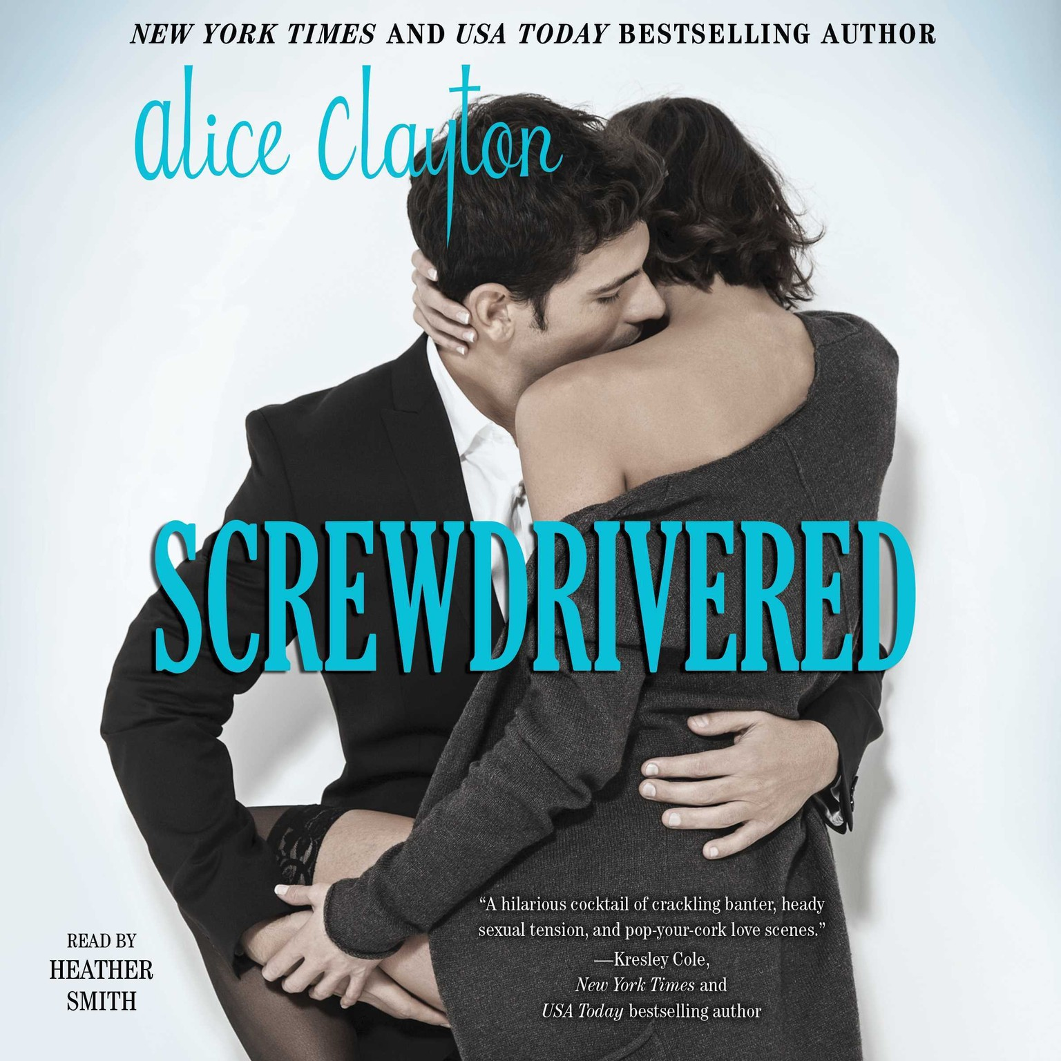 Printable Screwdrivered Audiobook Cover Art
