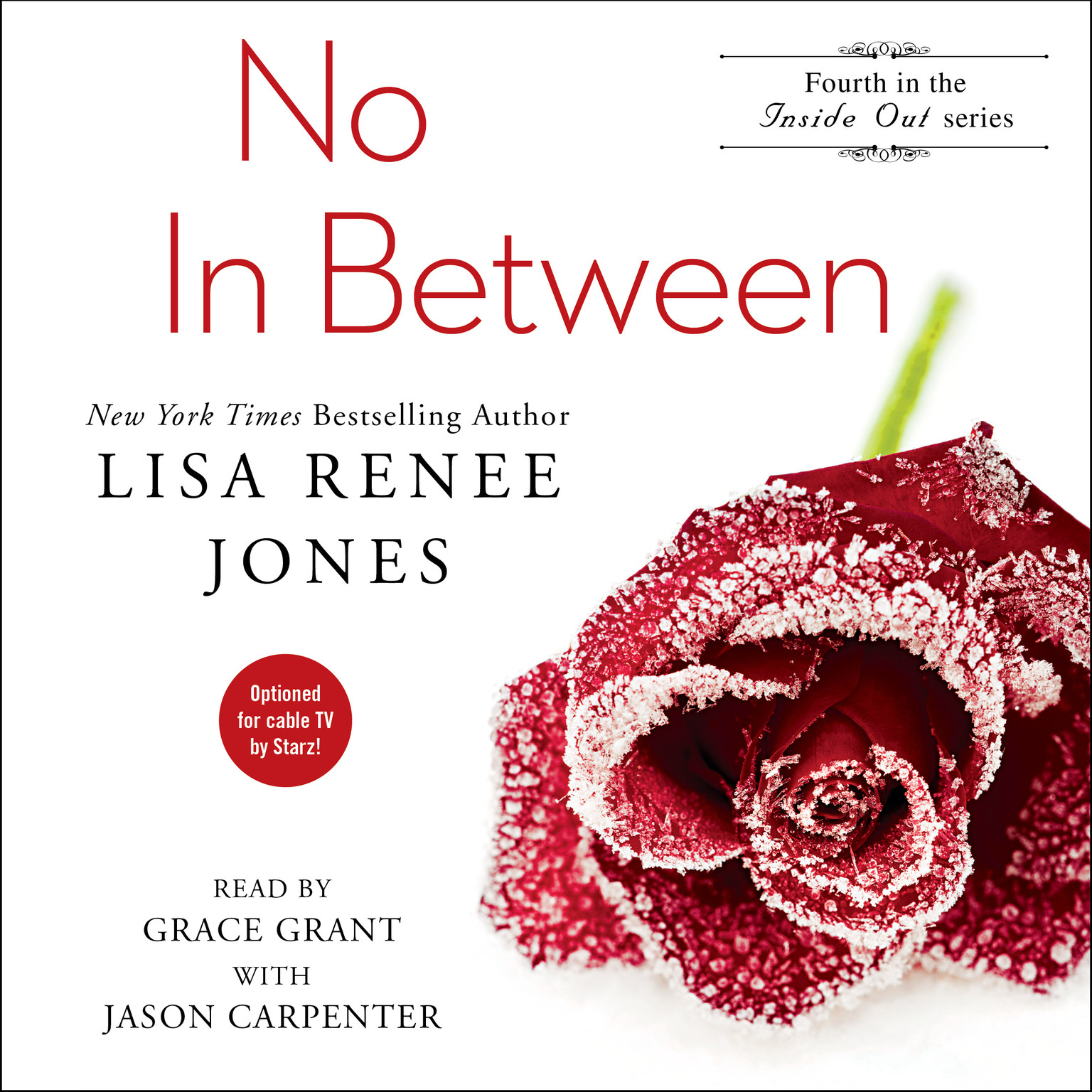 Printable No In Between Audiobook Cover Art