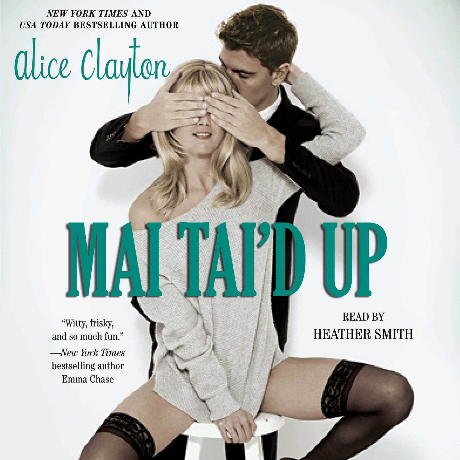Printable Mai Tai'd Up Audiobook Cover Art