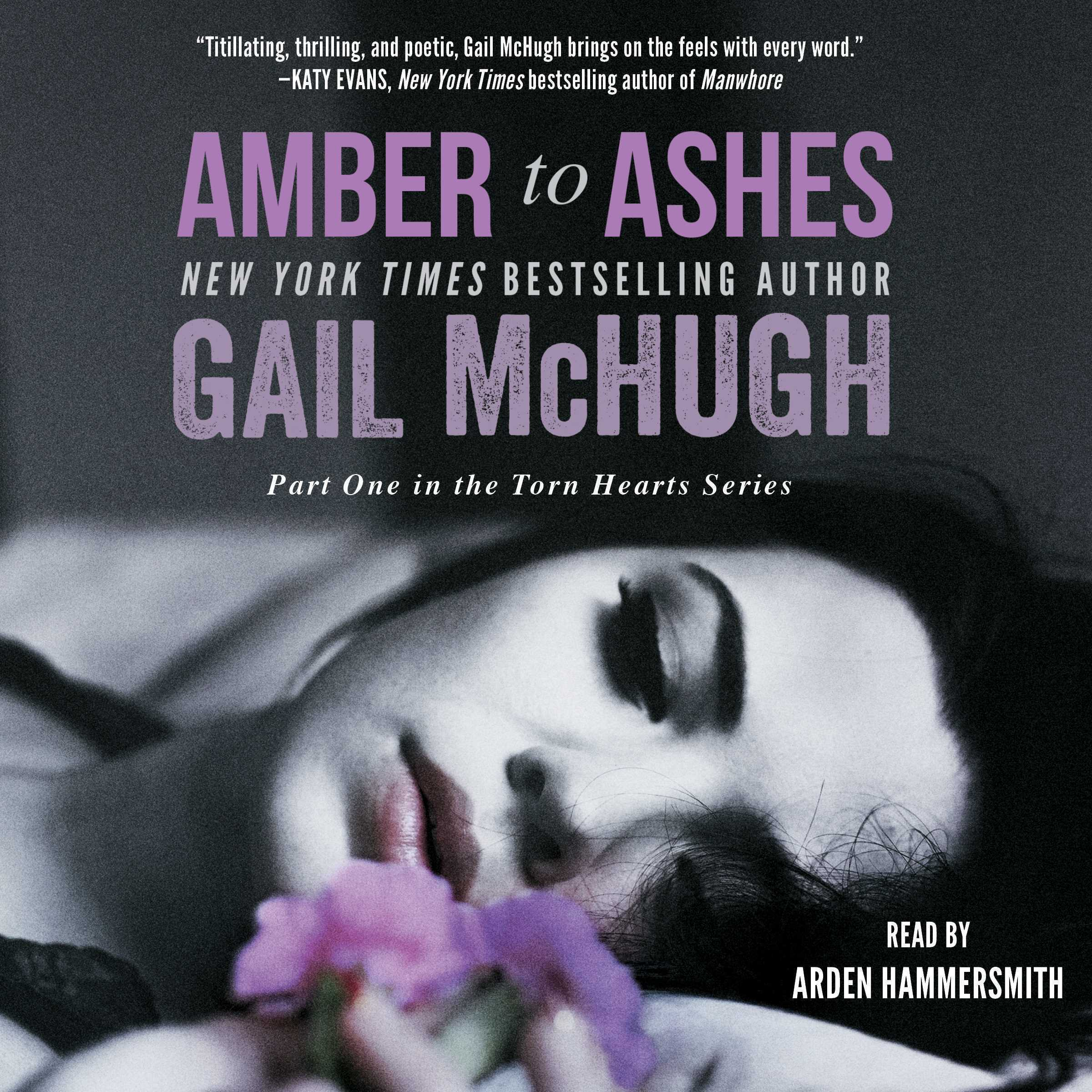 Printable Amber to Ashes Audiobook Cover Art