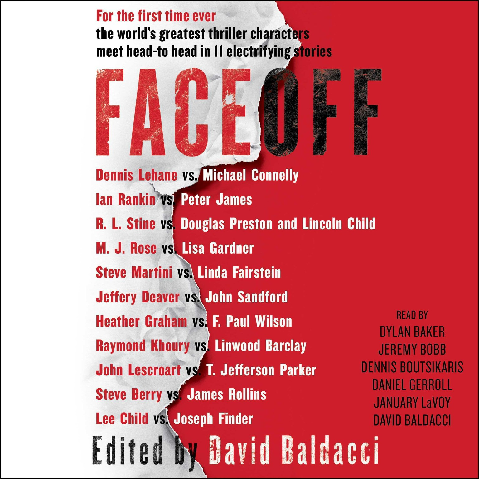 Printable FaceOff Audiobook Cover Art
