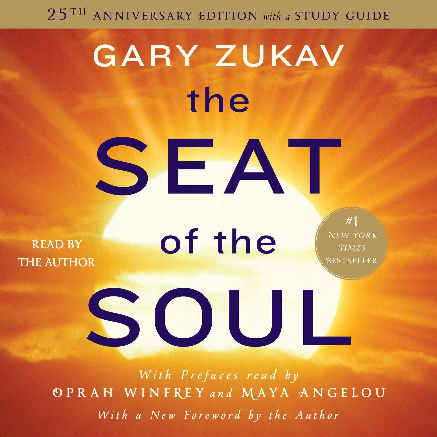 Printable The Seat of the Soul: 25TH Anniversary Edition Audiobook Cover Art
