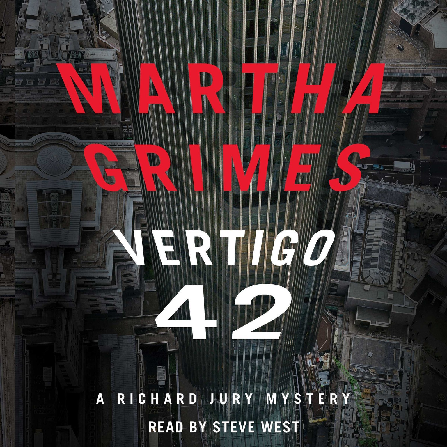 Printable Vertigo 42: A Richard Jury Mystery Audiobook Cover Art