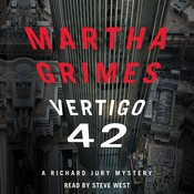 Vertigo 42: A Richard Jury Mystery, by Martha Grimes