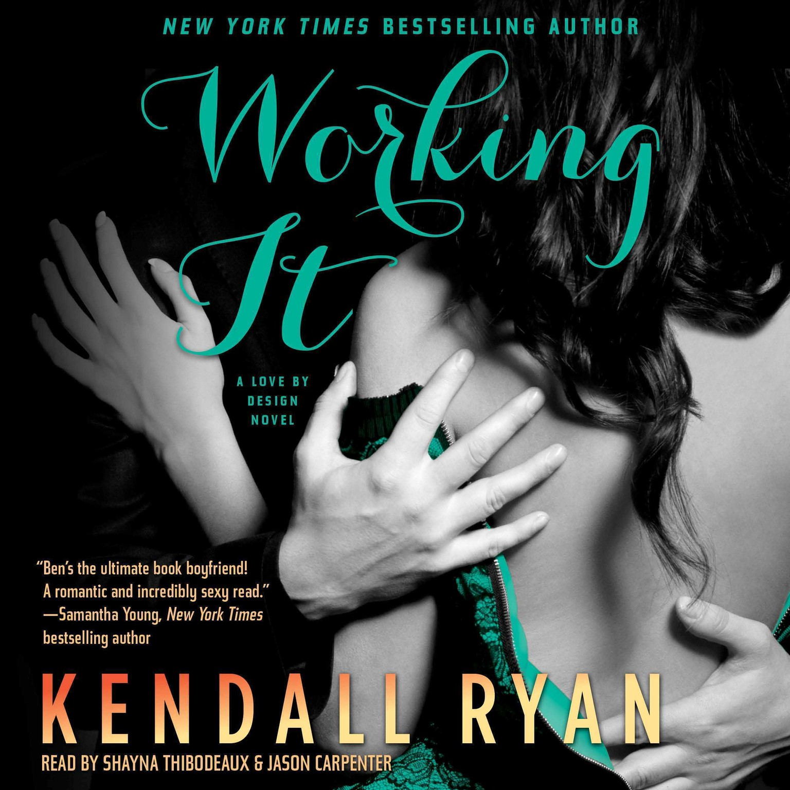 Printable Working It Audiobook Cover Art