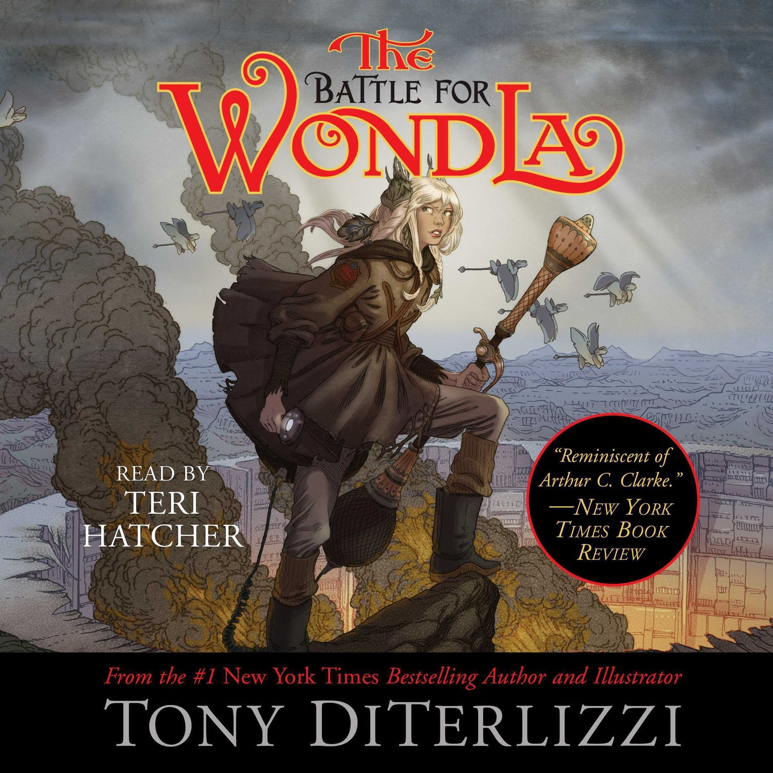 Printable The Battle for WondLa Audiobook Cover Art