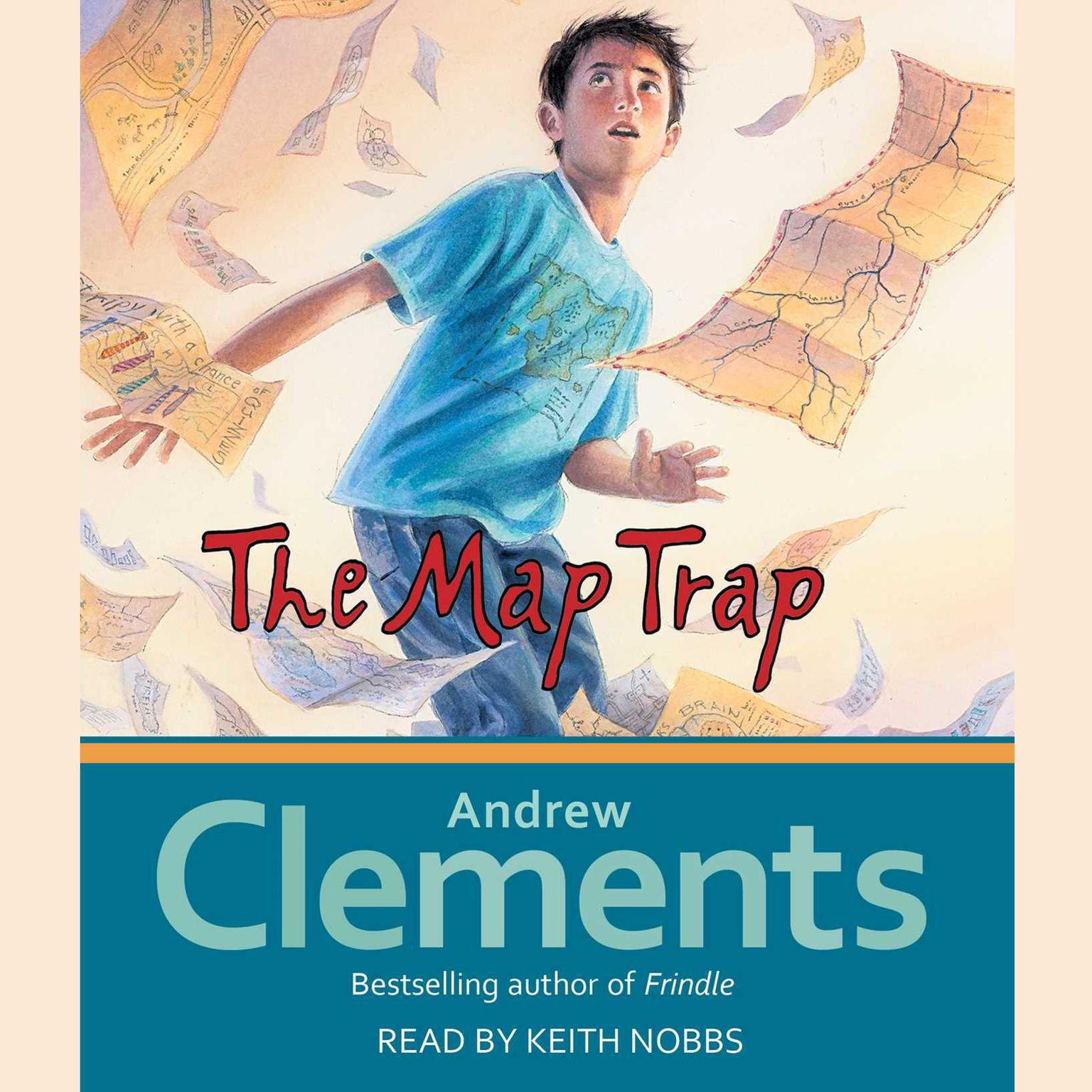 Printable The Map Trap  Audiobook Cover Art