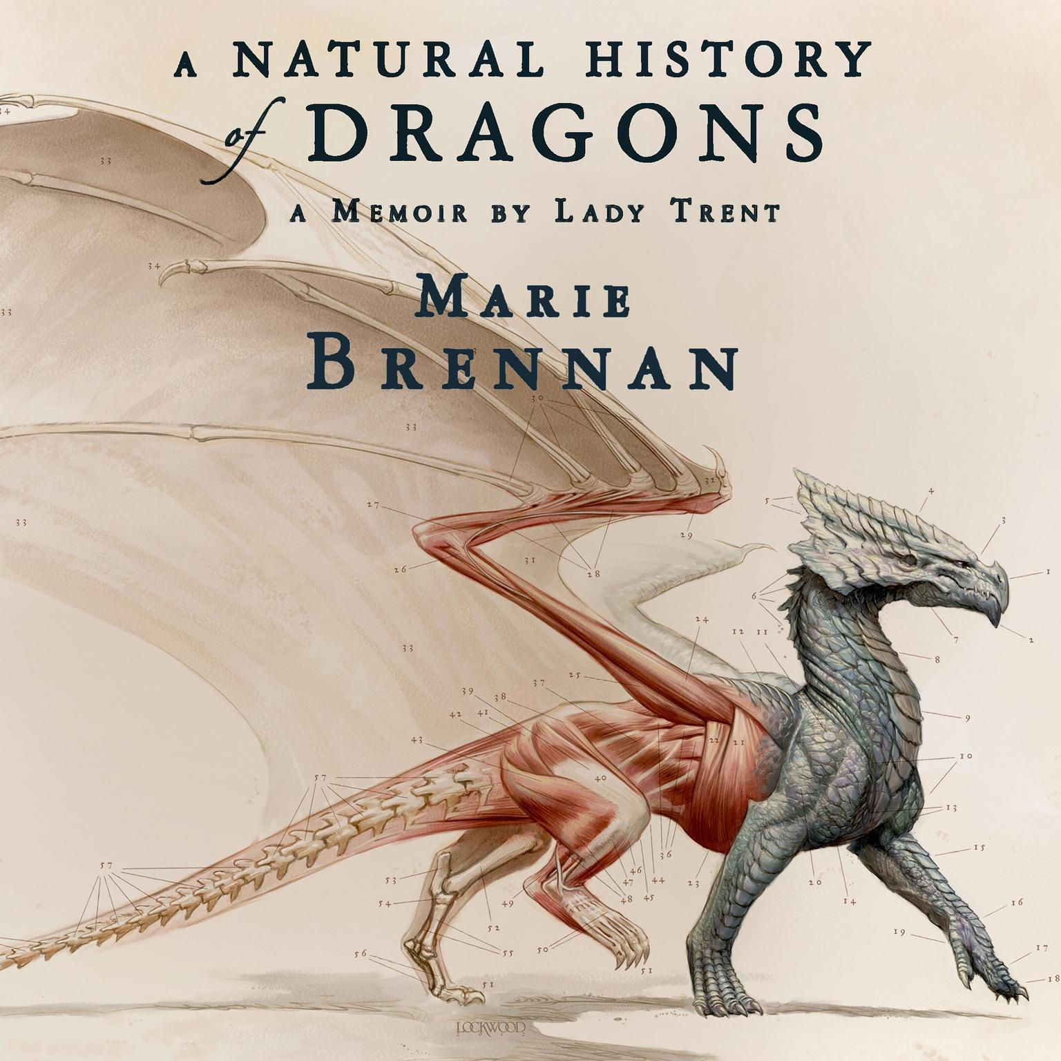 Printable A Natural History of Dragons: A Memoir by Lady Trent Audiobook Cover Art