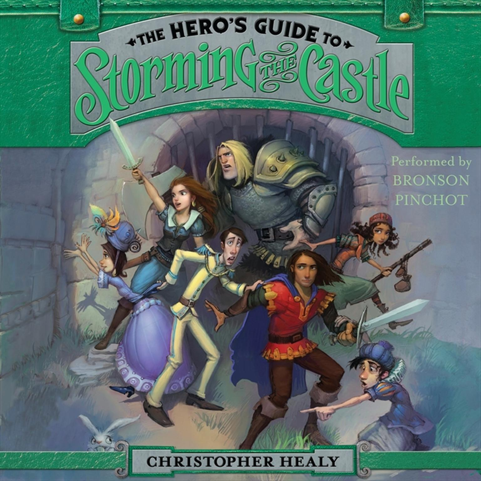 Printable The Hero's Guide to Storming the Castle Audiobook Cover Art