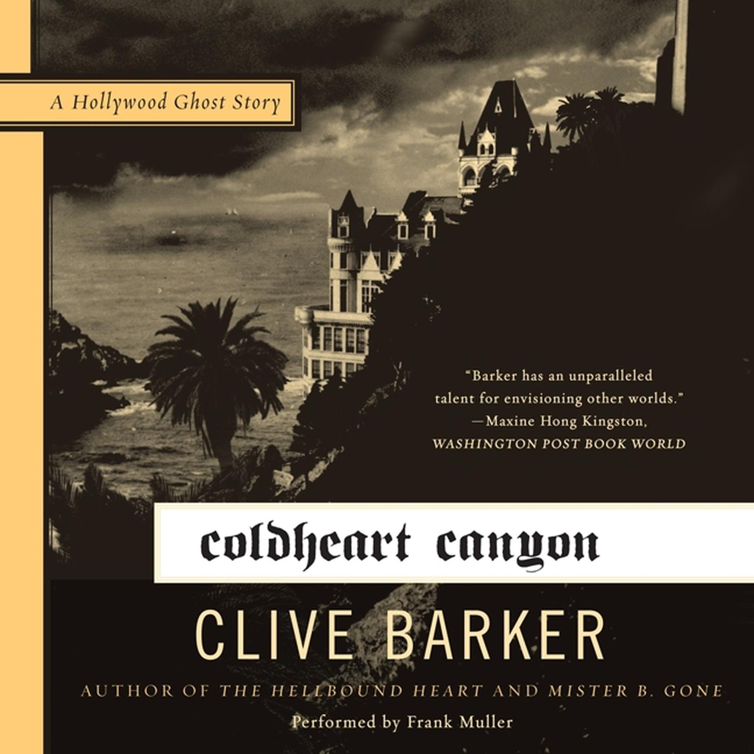 Printable Coldheart Canyon: A Hollywood Ghost Story Audiobook Cover Art