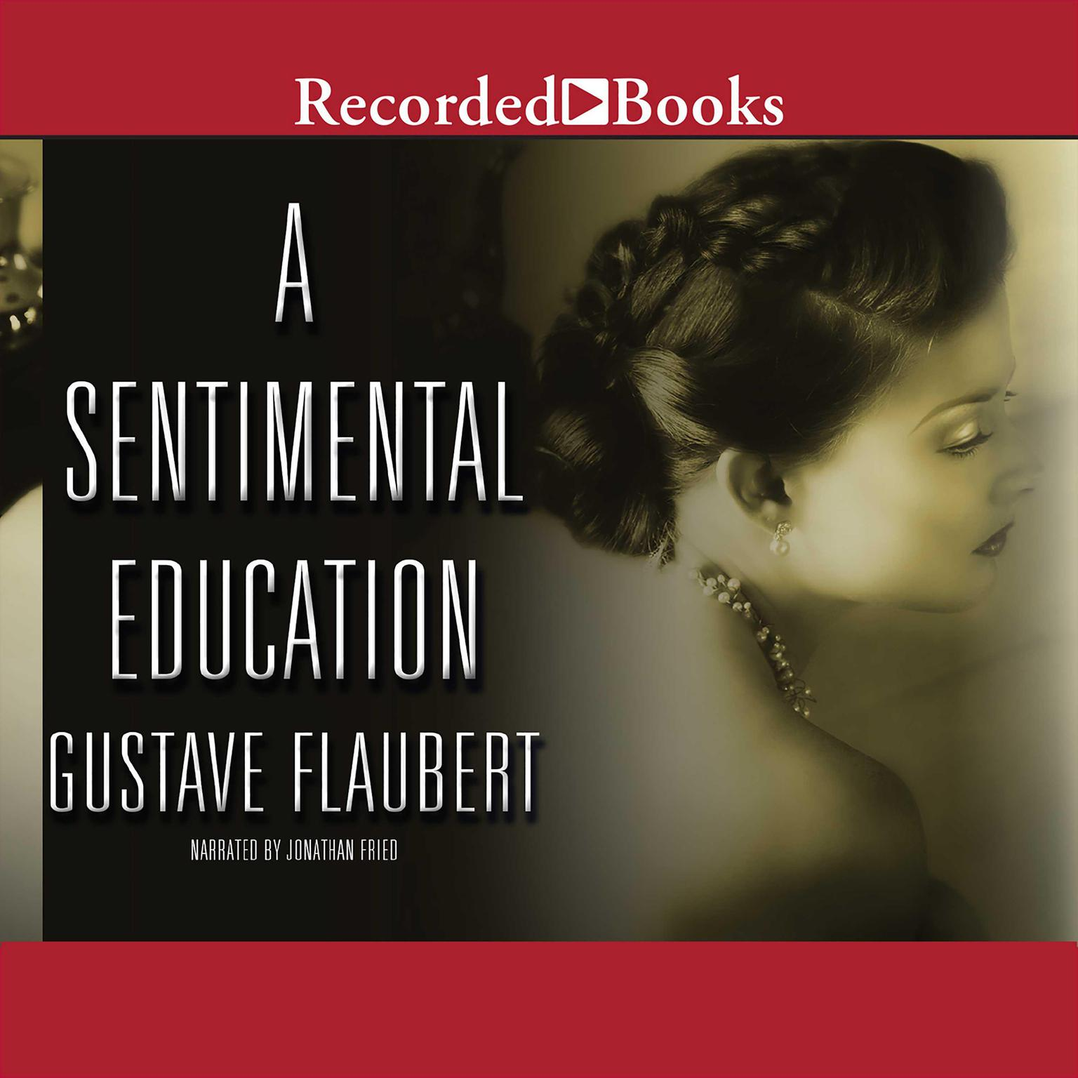 Printable Sentimental Education Audiobook Cover Art