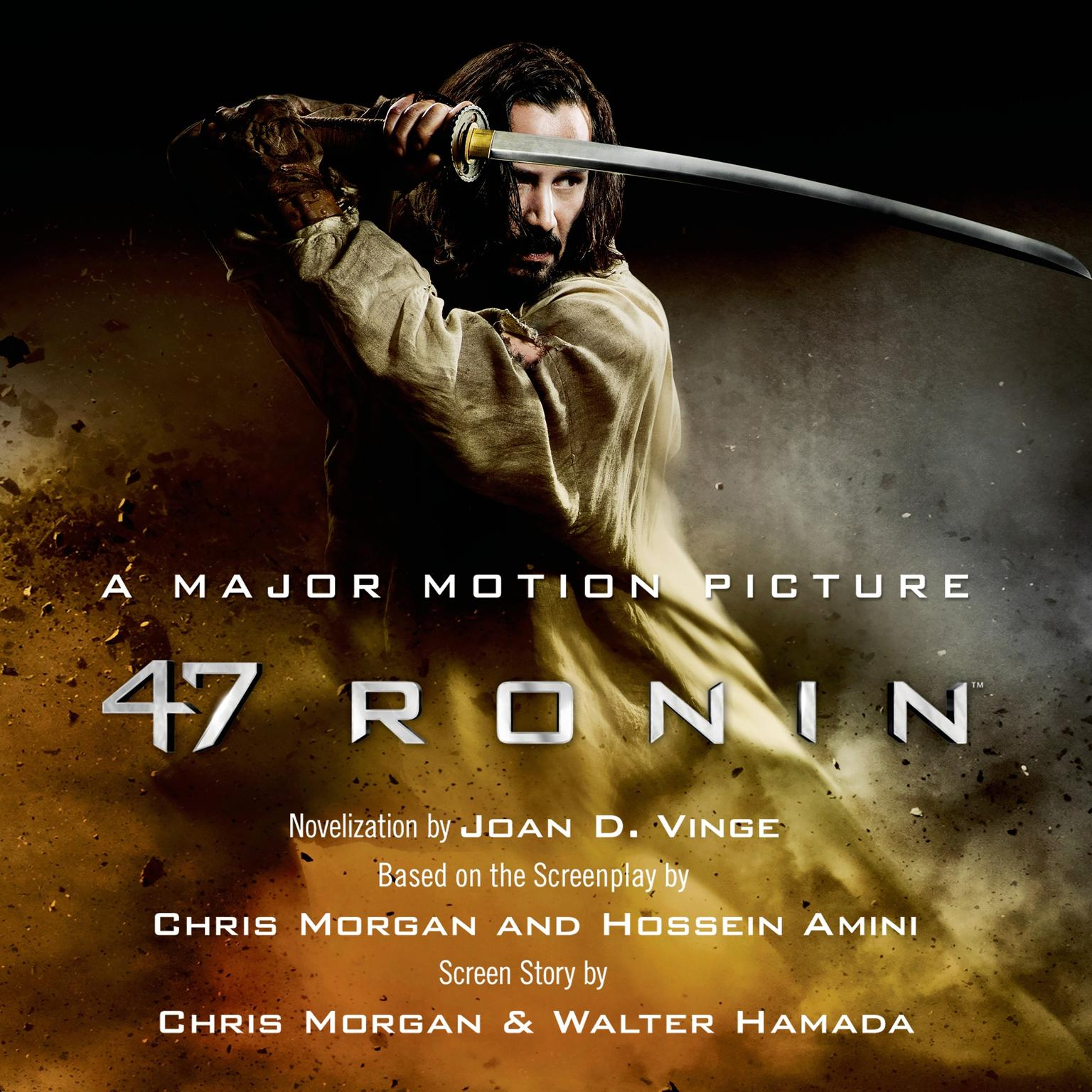 Printable 47 Ronin Audiobook Cover Art