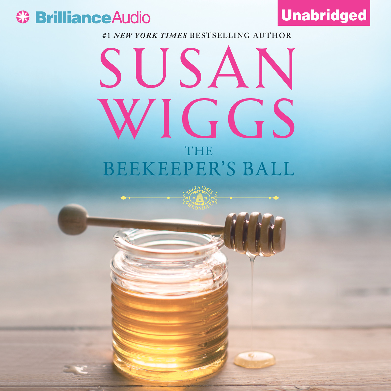 Printable The Beekeeper's Ball Audiobook Cover Art