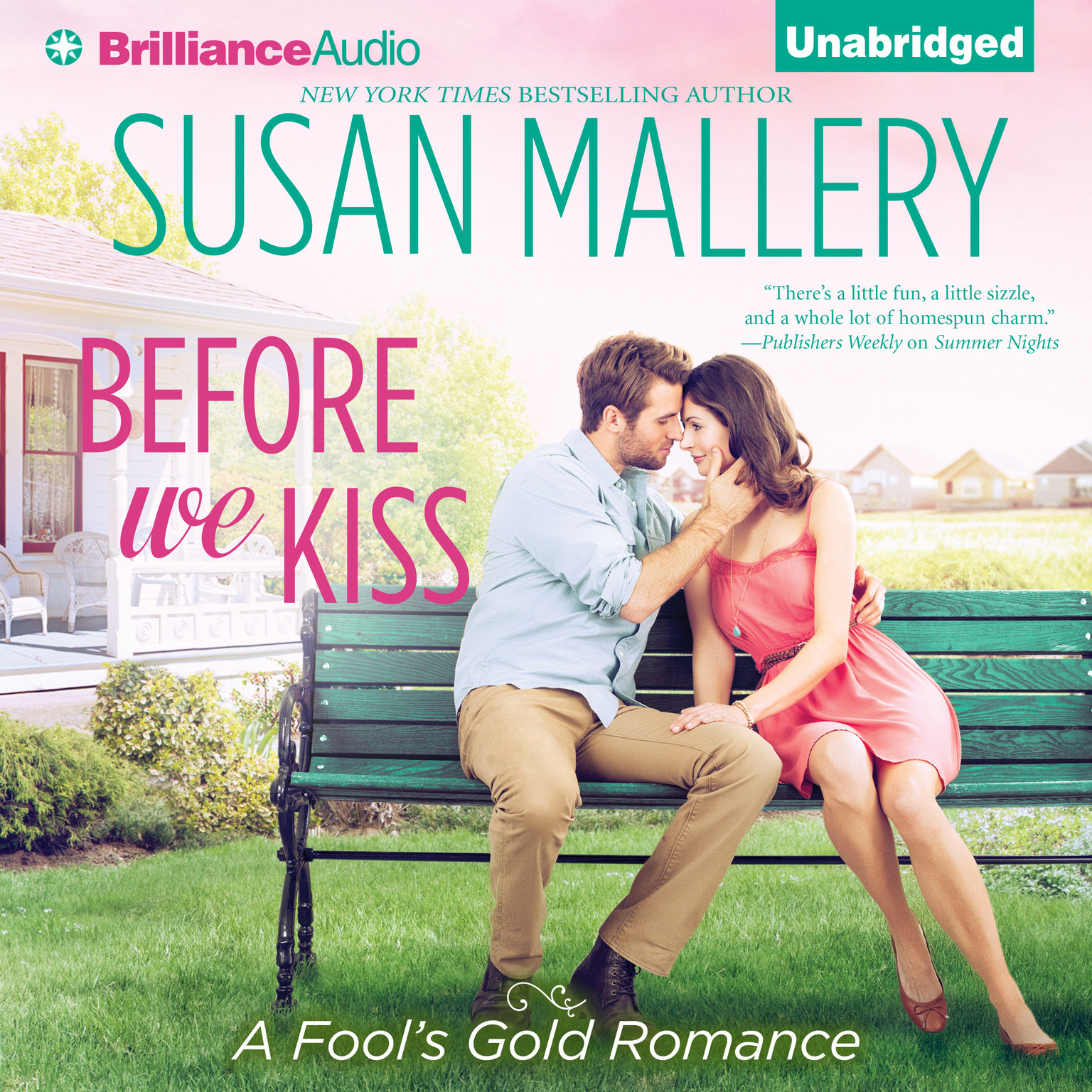Printable Before We Kiss Audiobook Cover Art