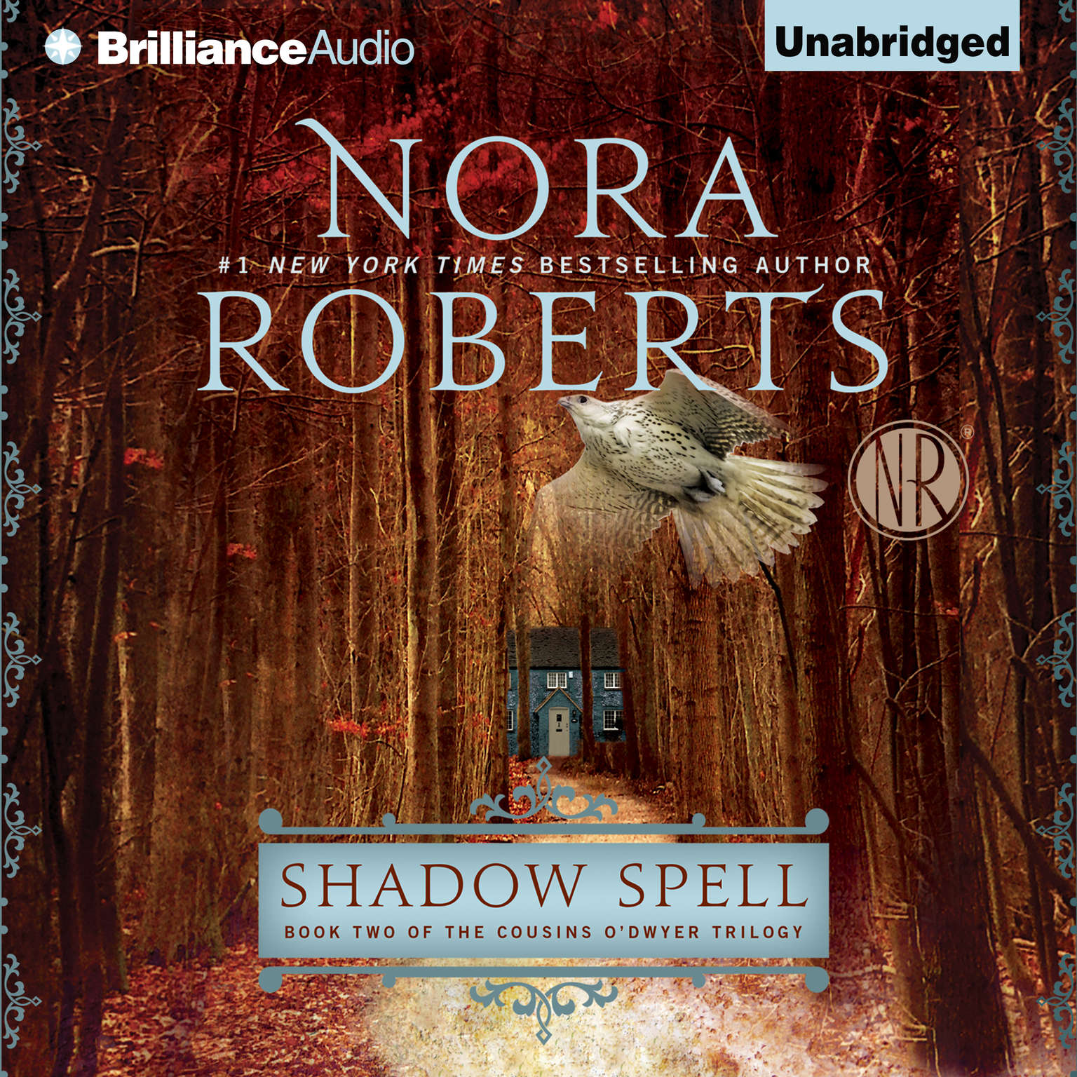 Printable Shadow Spell Audiobook Cover Art