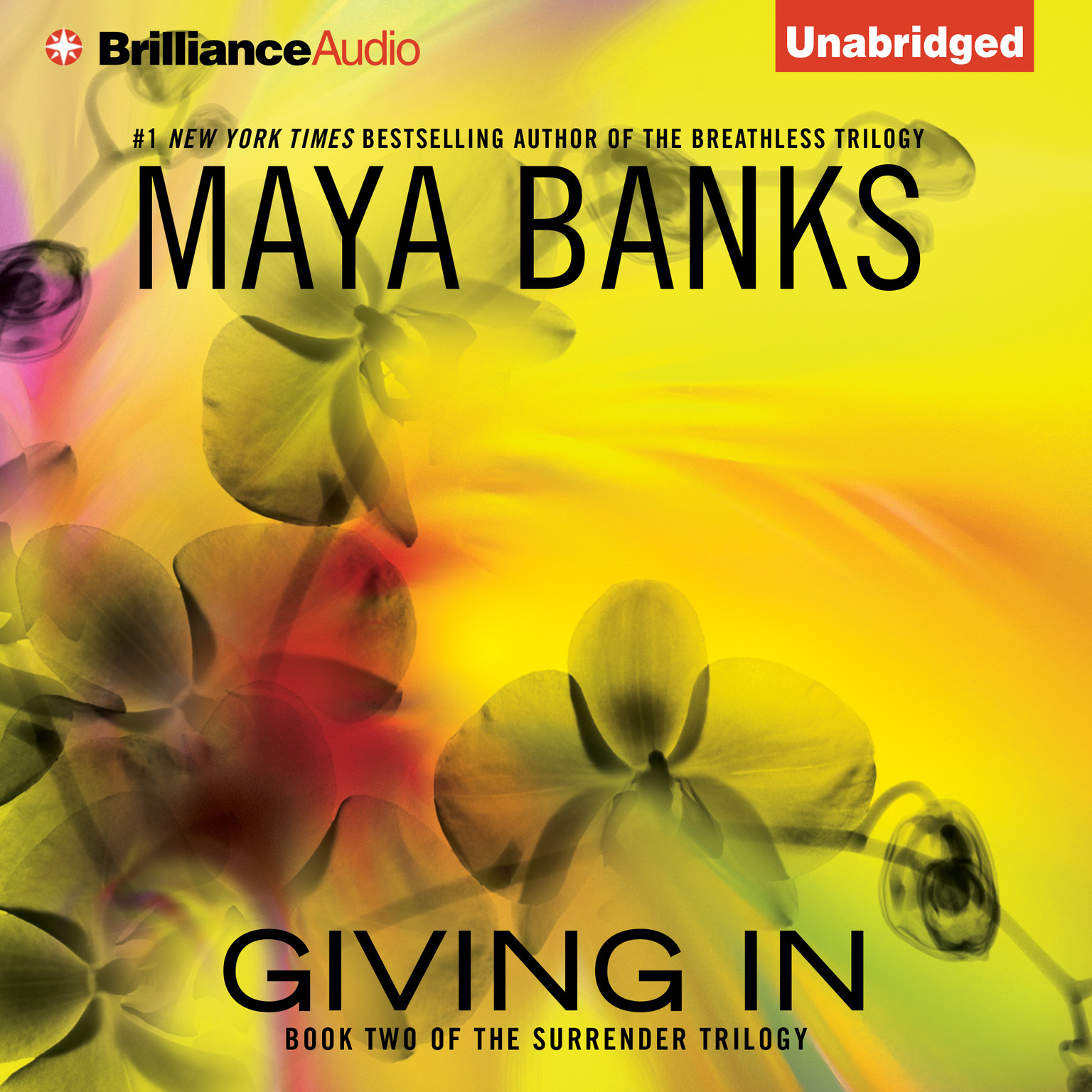 Printable Giving In Audiobook Cover Art