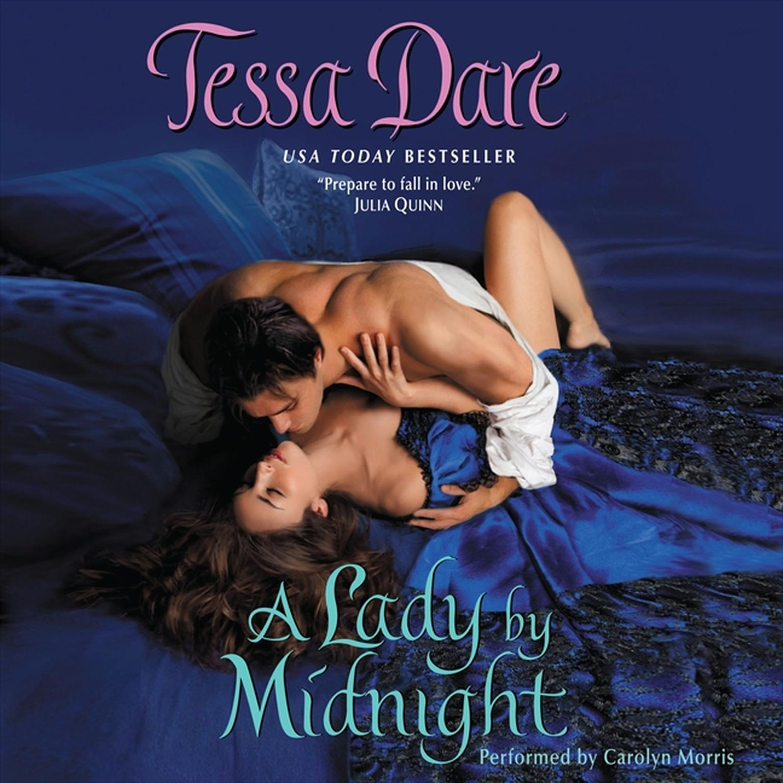 Printable A Lady by Midnight Audiobook Cover Art