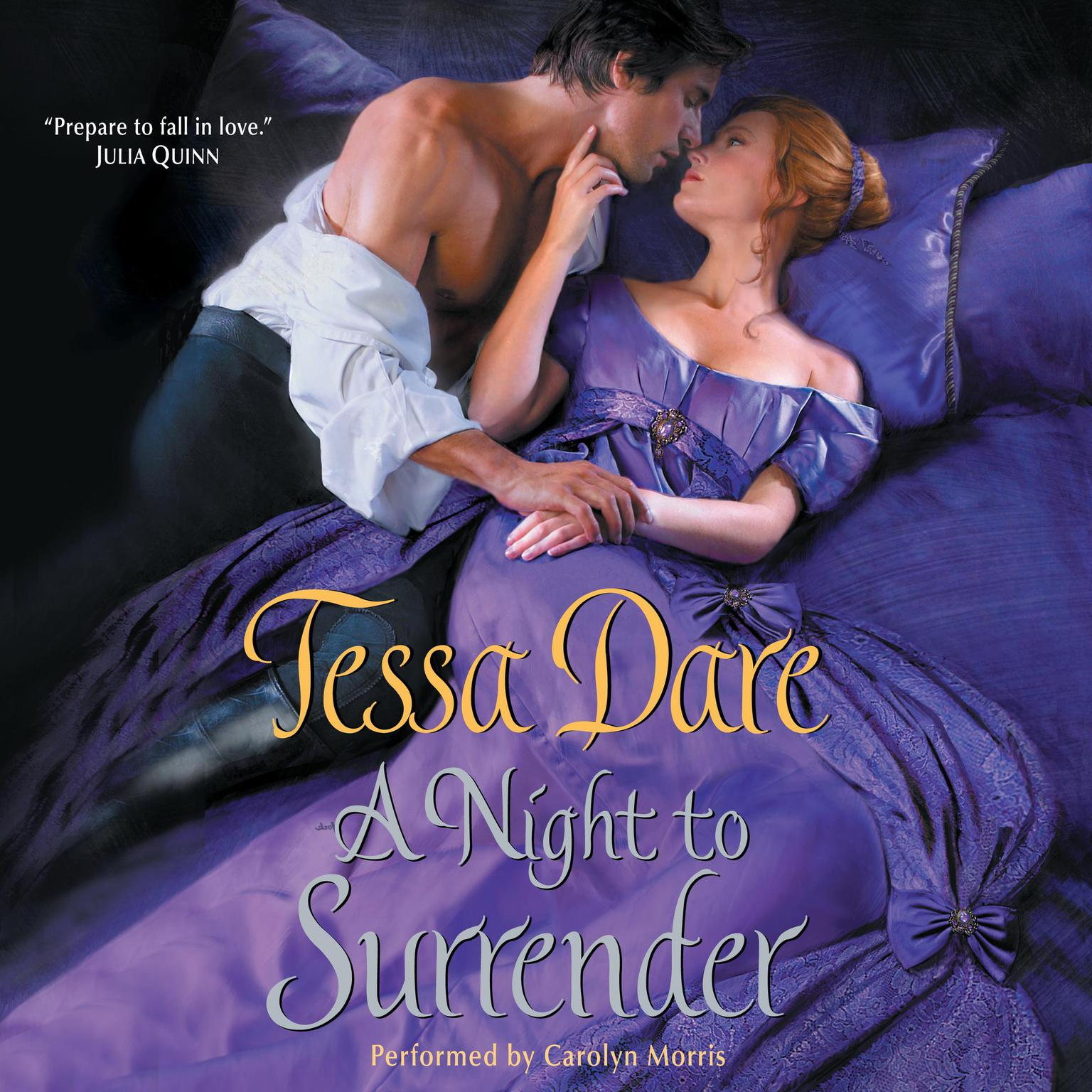 Printable A Night to Surrender Audiobook Cover Art