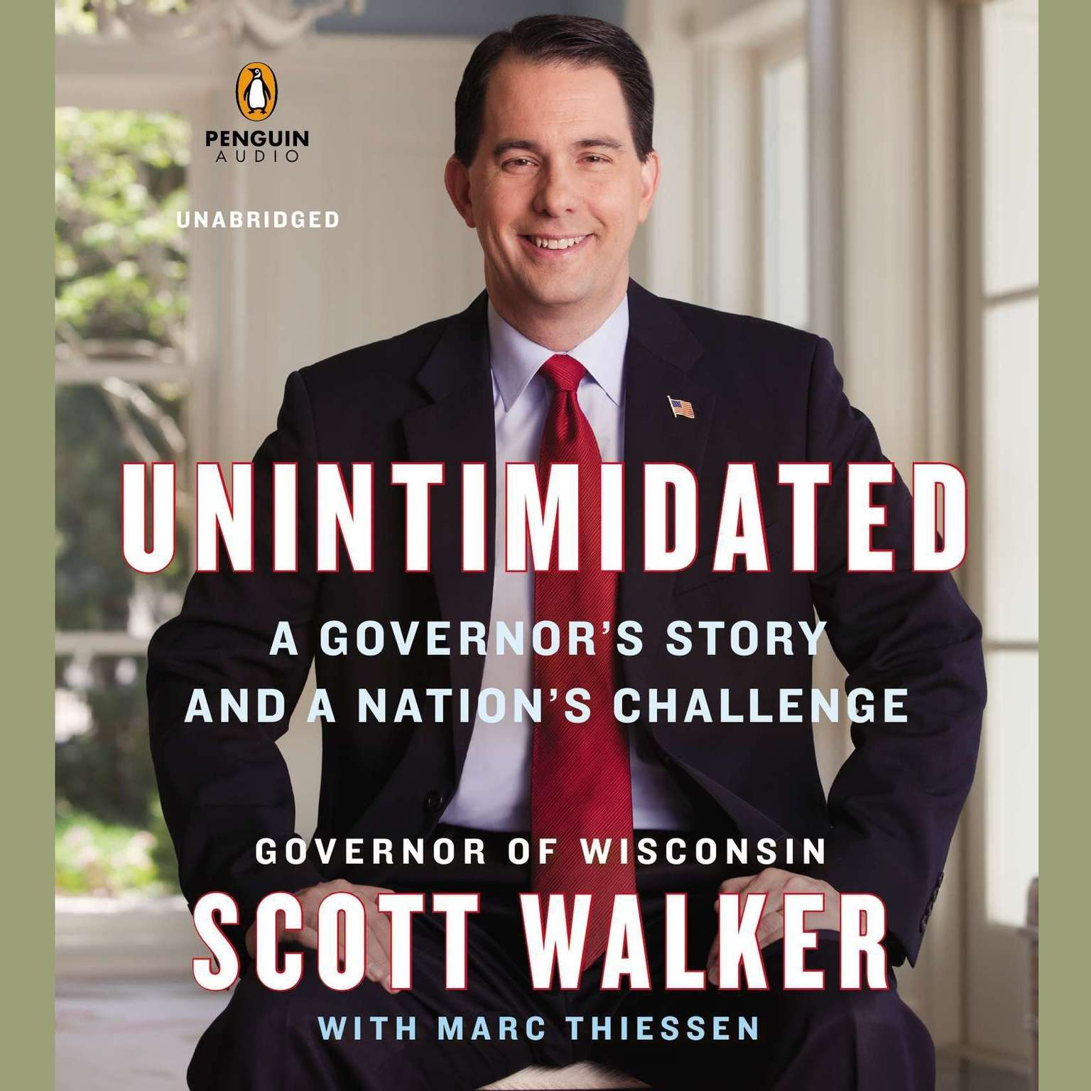Printable Unintimidated: A Governor's Story and a Nation's Challenge Audiobook Cover Art