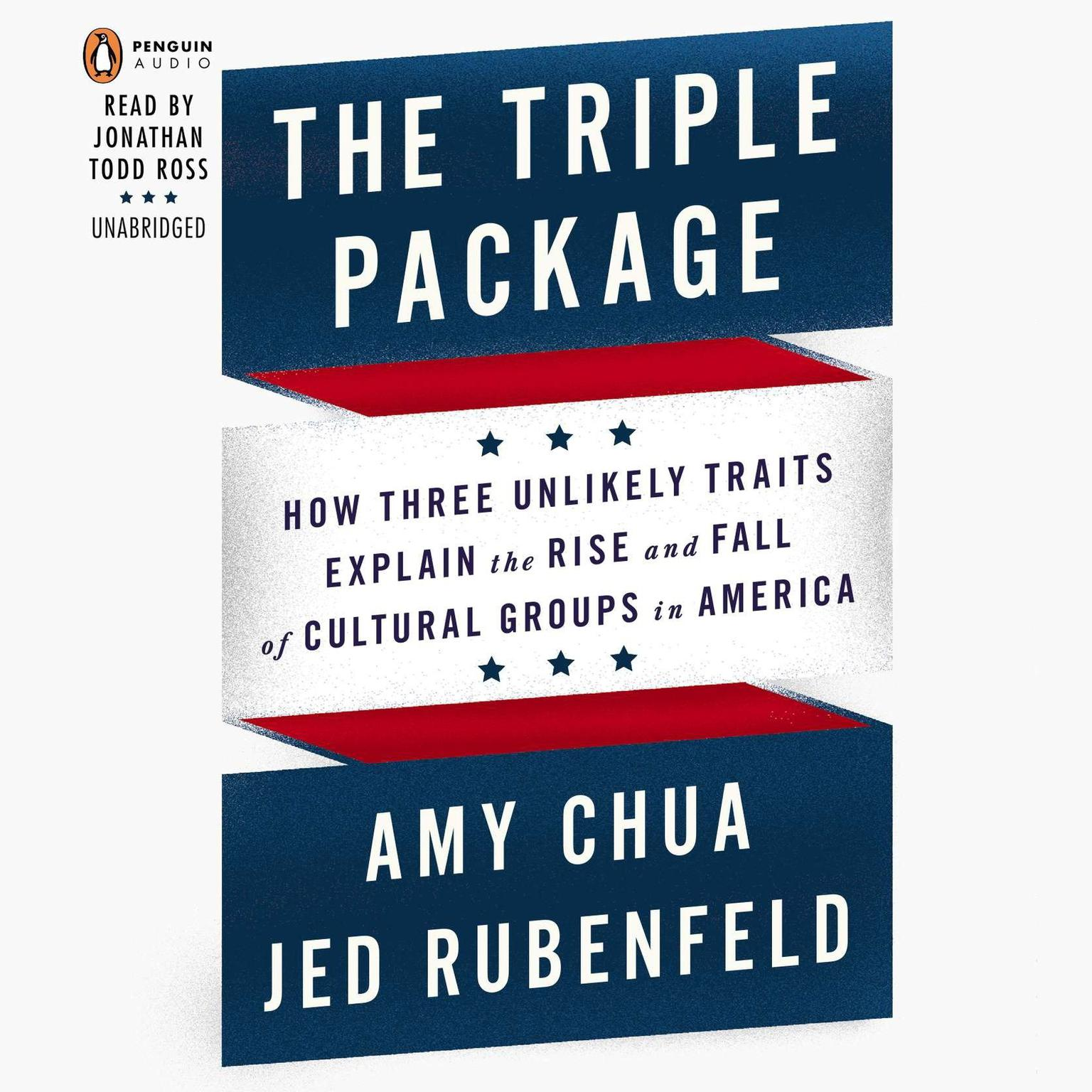 Printable The Triple Package: Why Groups Rise and Fall in America Audiobook Cover Art