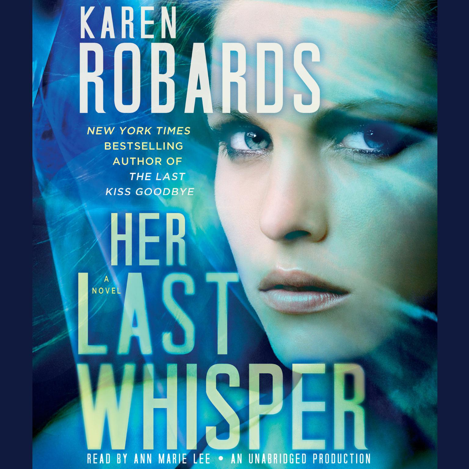 Printable Her Last Whisper: A Novel Audiobook Cover Art