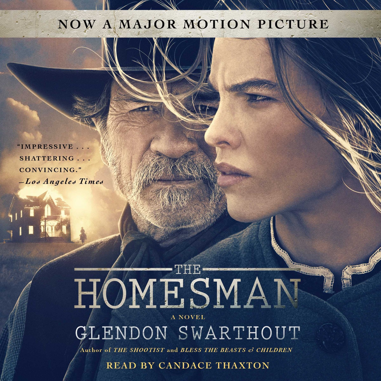 Printable The Homesman: A Novel Audiobook Cover Art
