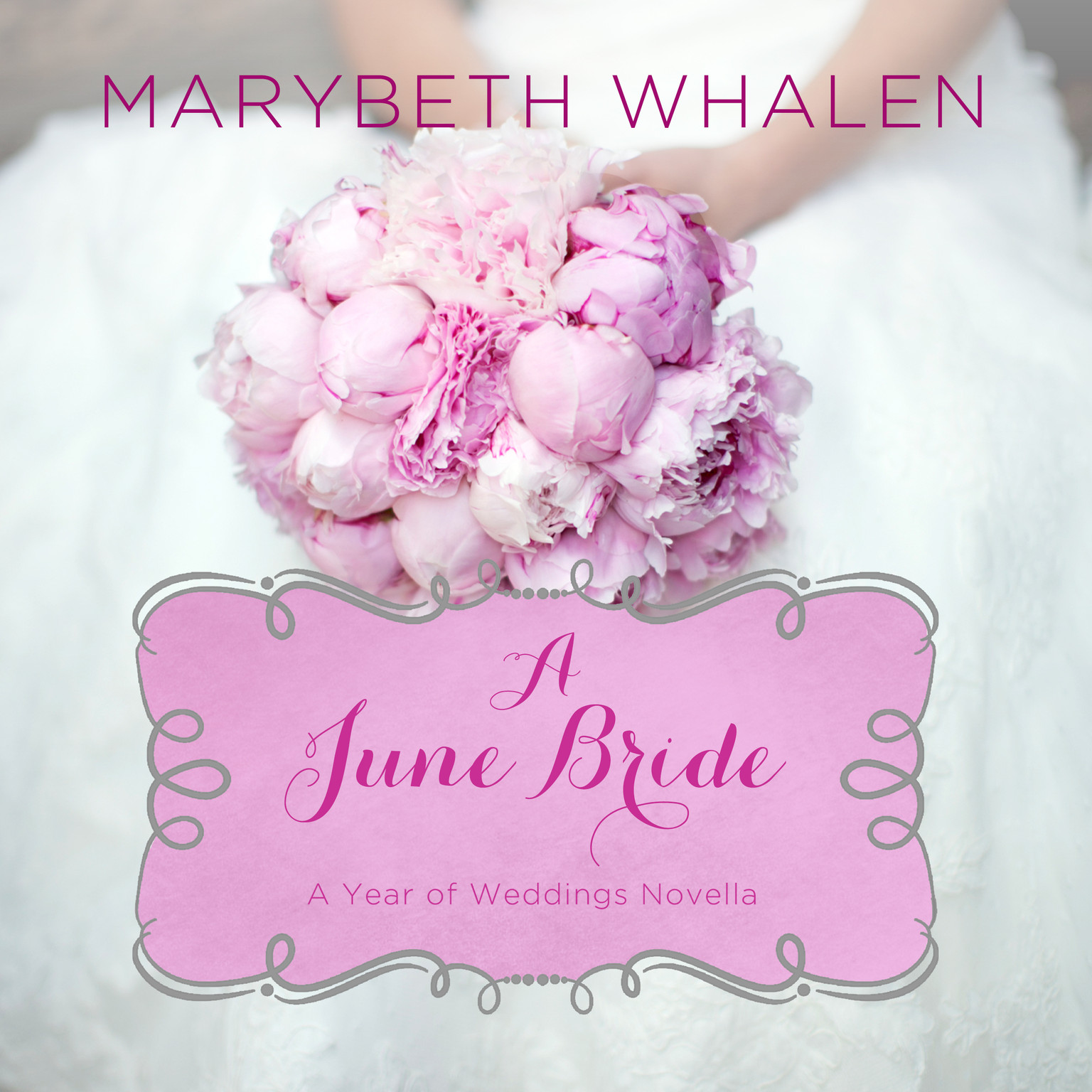 Printable A June Bride Audiobook Cover Art