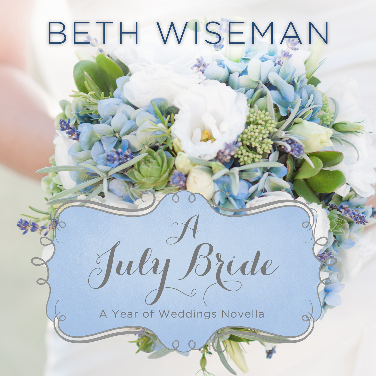 Printable A July Bride Audiobook Cover Art