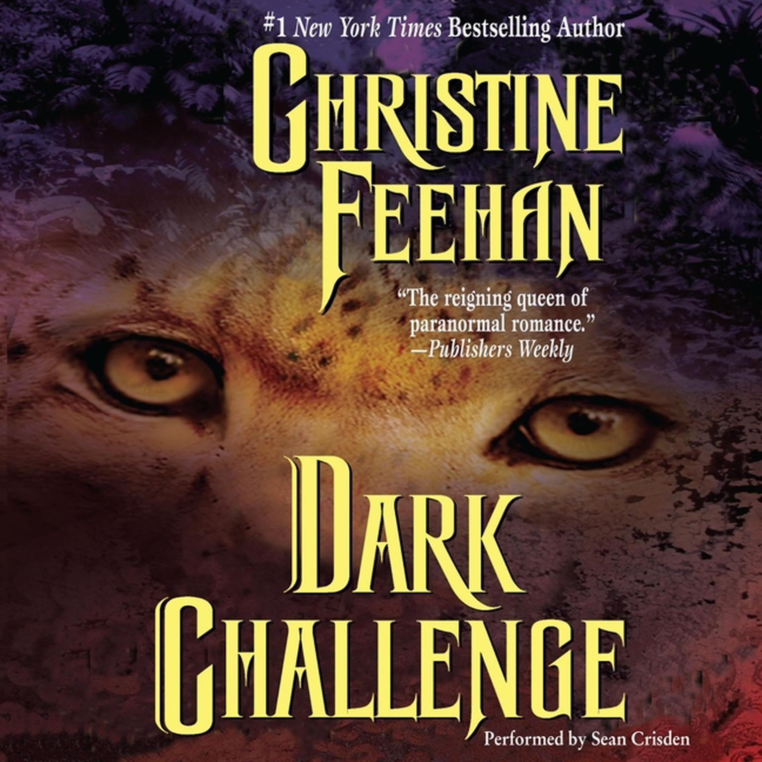 Printable Dark Challenge Audiobook Cover Art