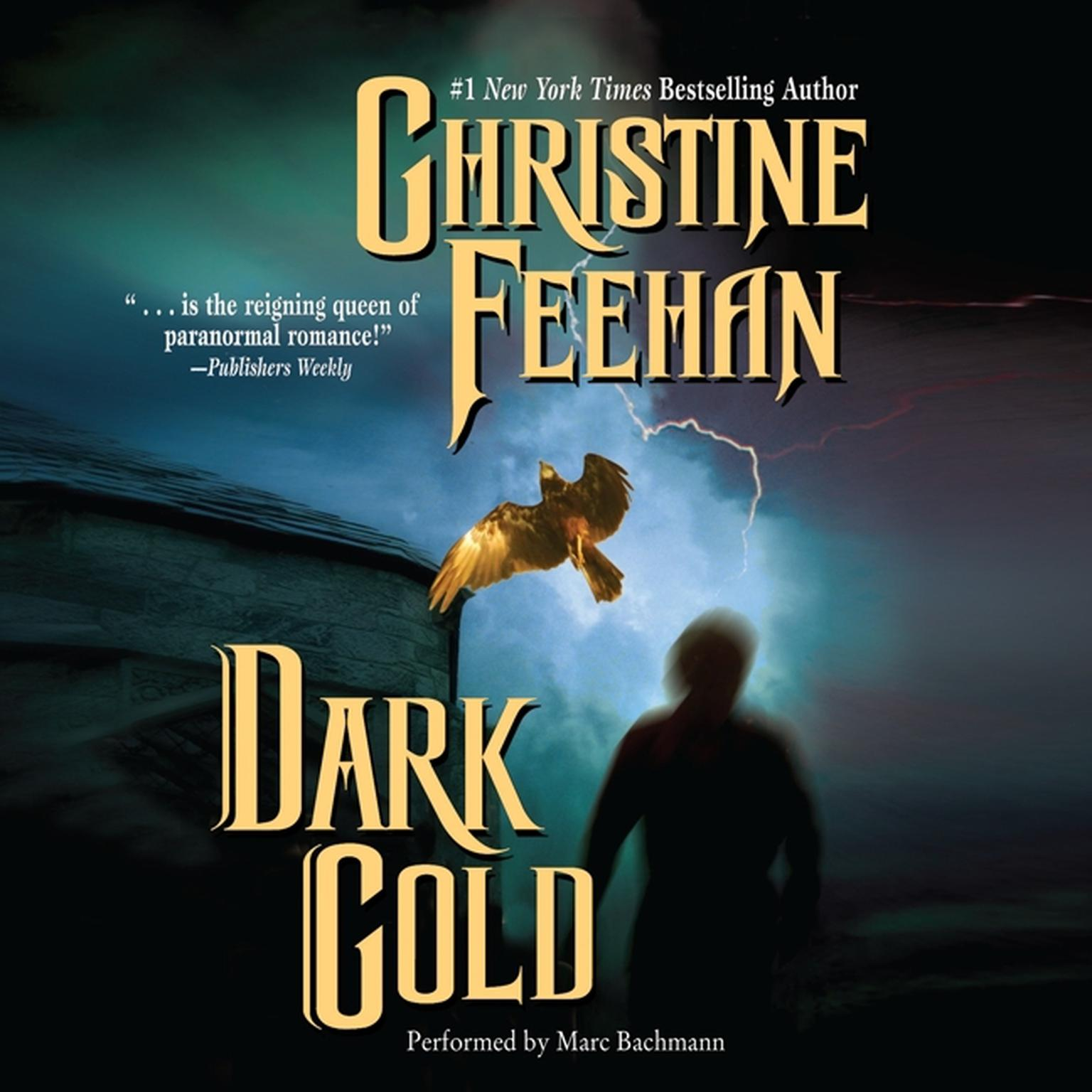 Printable Dark Gold Audiobook Cover Art