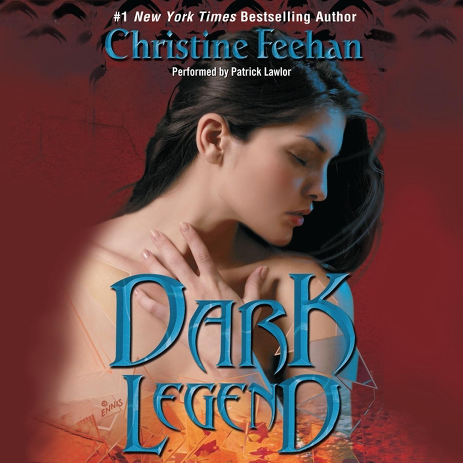 Printable Dark Legend Audiobook Cover Art