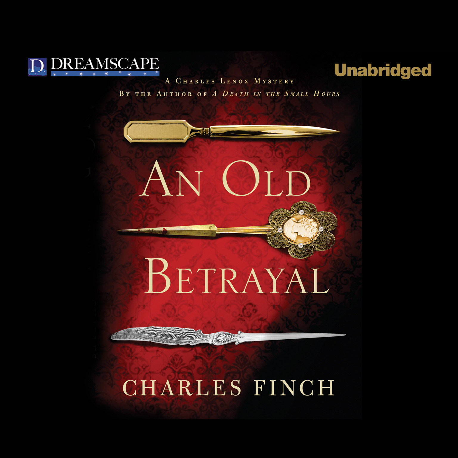 Printable An Old Betrayal Audiobook Cover Art