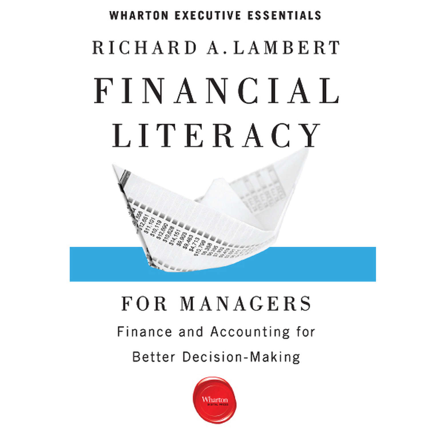 Printable Financial Literacy for Managers: Finance and Accounting for Better Decision-Making Audiobook Cover Art