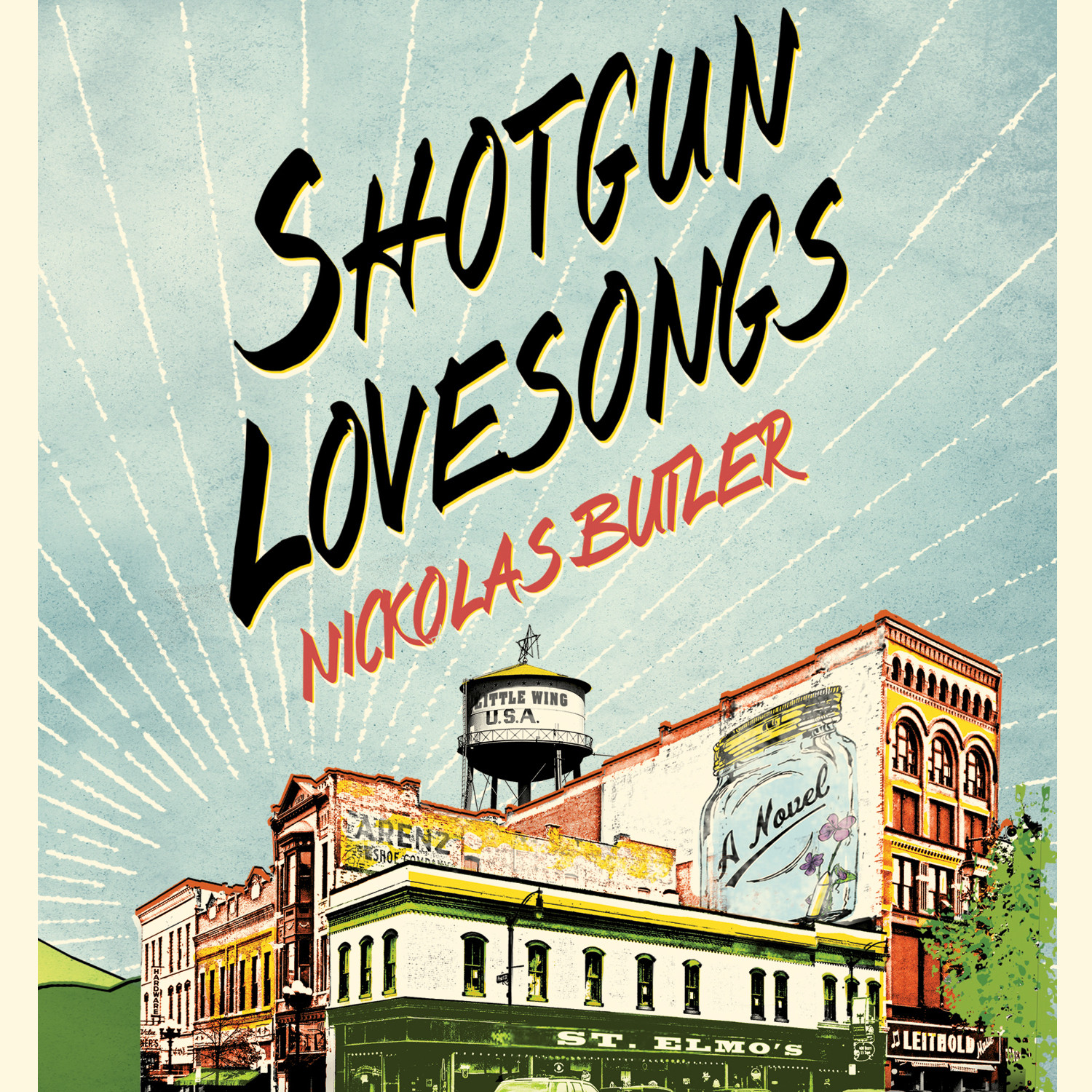 Printable Shotgun Lovesongs: A Novel Audiobook Cover Art
