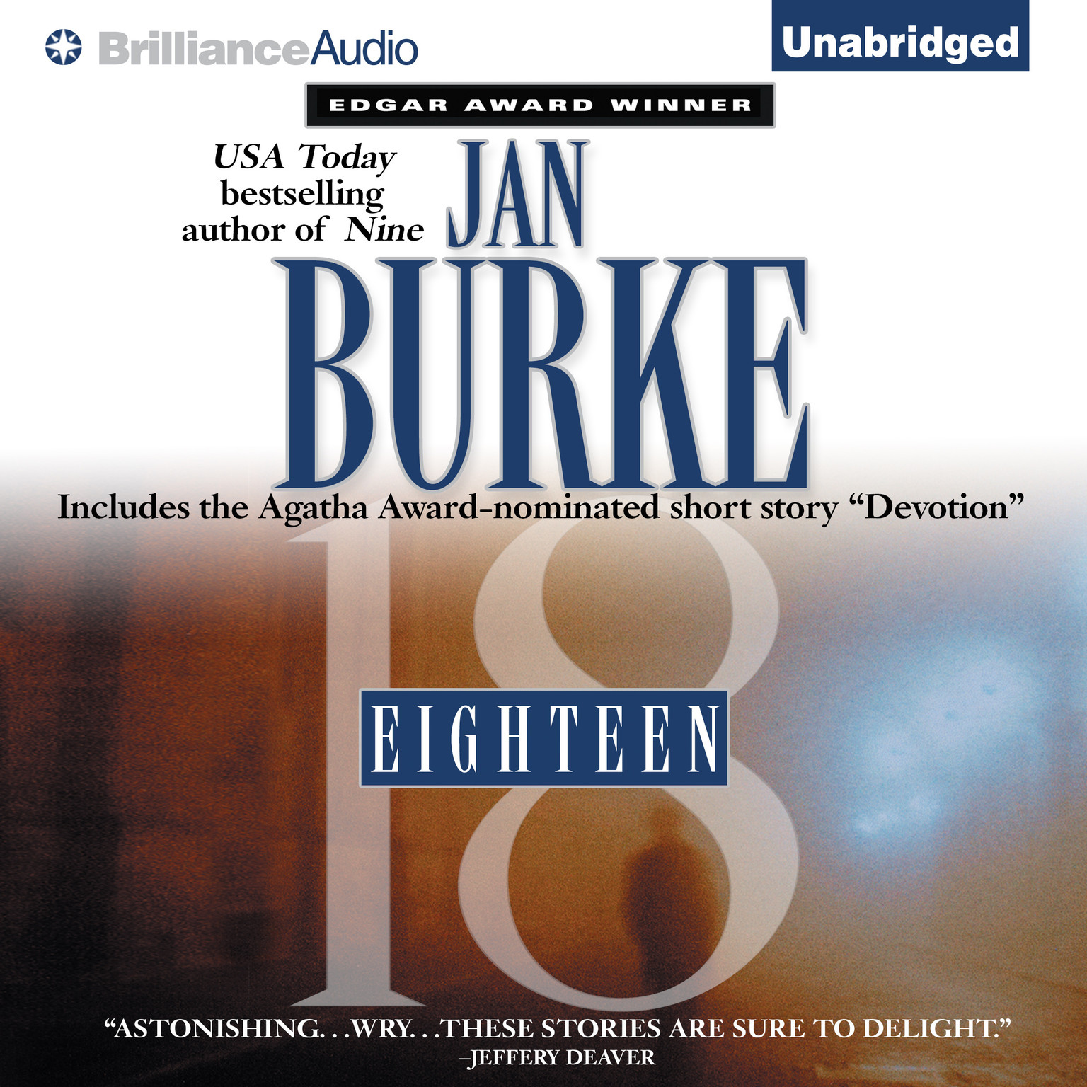 Printable Eighteen Audiobook Cover Art
