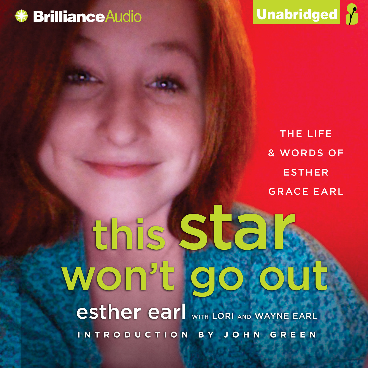 Printable This Star Won't Go Out: The Life and Words of Esther Grace Earl Audiobook Cover Art