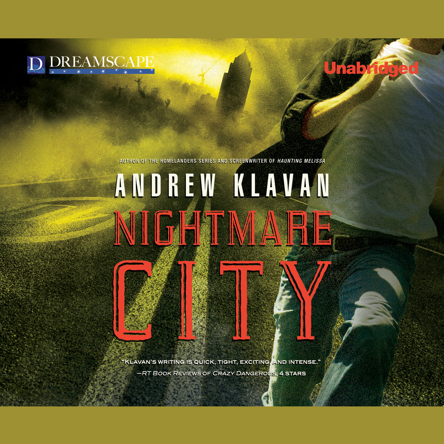 Printable Nightmare City Audiobook Cover Art