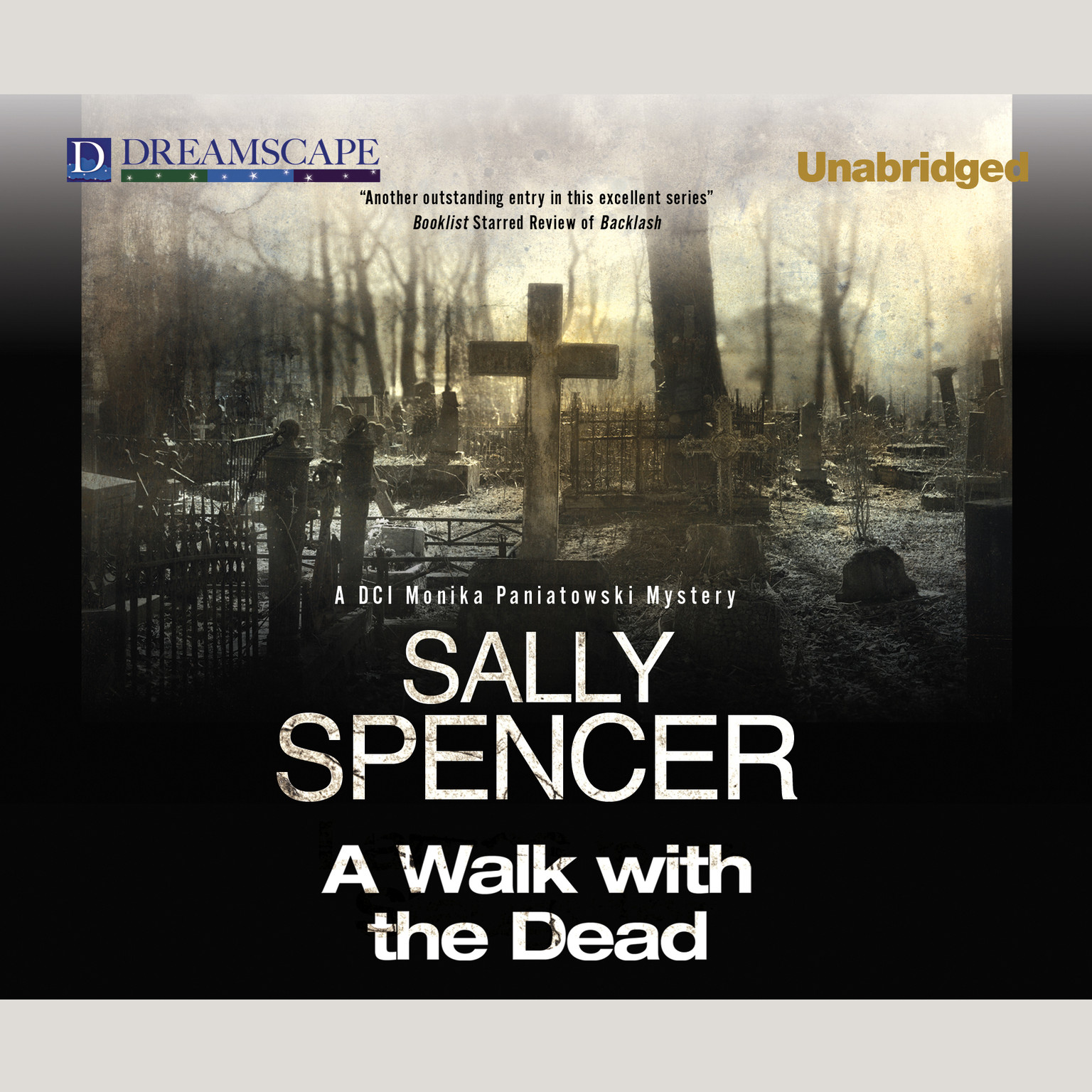 Printable A Walk with the Dead Audiobook Cover Art