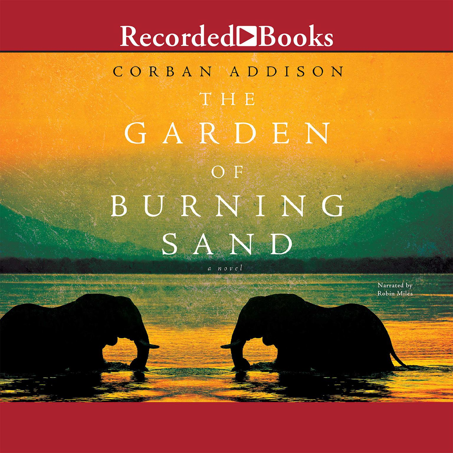 Printable The Garden of Burning Sand Audiobook Cover Art