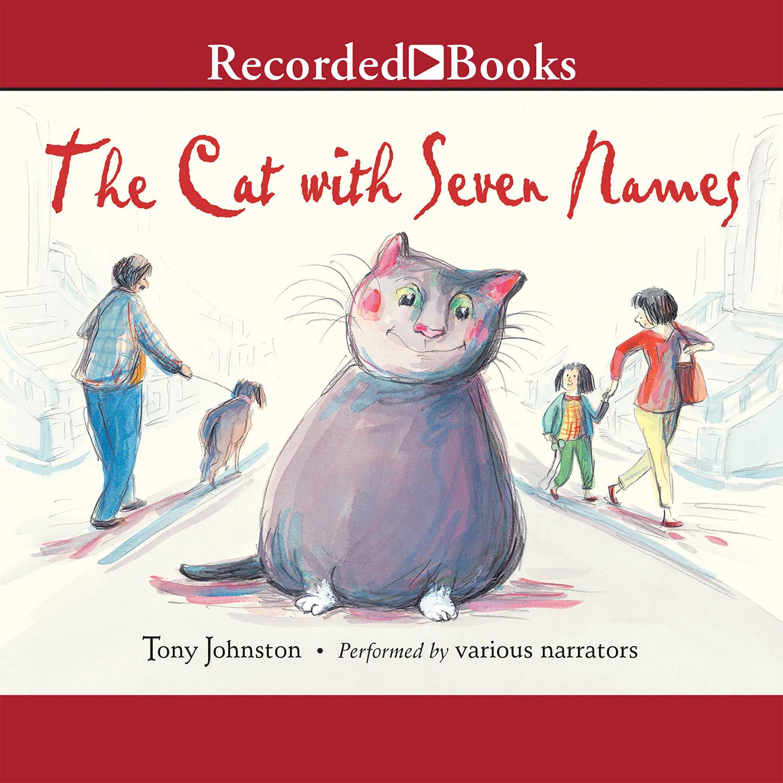 Printable The Cat with Seven Names Audiobook Cover Art