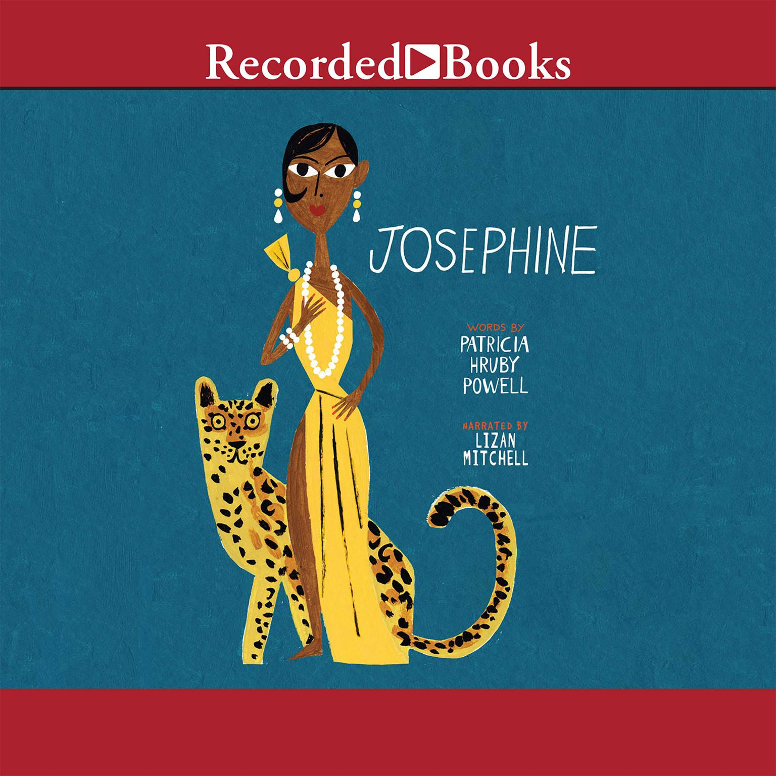 Printable Josephine: The Dazzling Life of Josephine Baker Audiobook Cover Art
