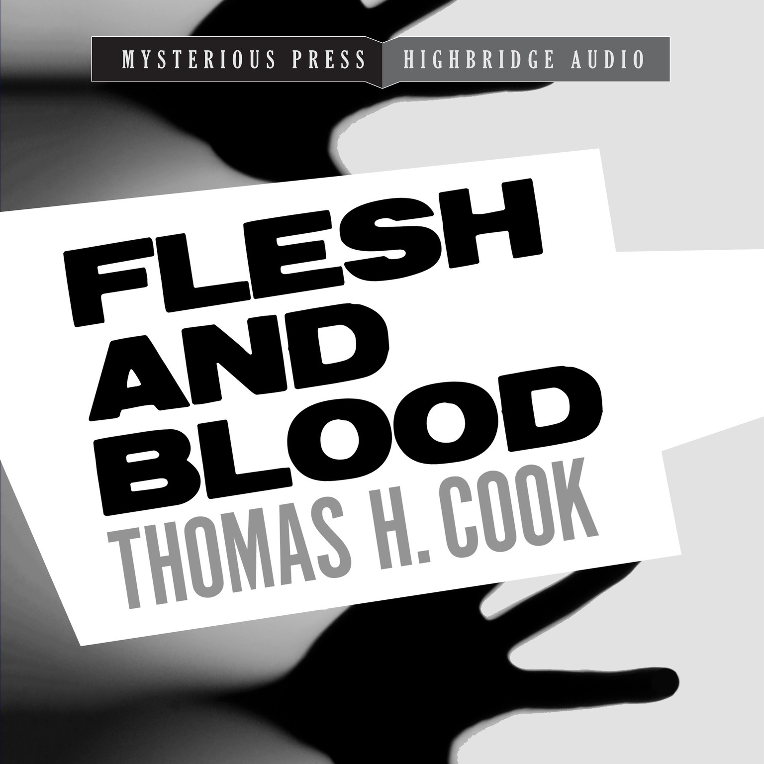 Printable Flesh and Blood: A Frank Clemons Mystery Audiobook Cover Art