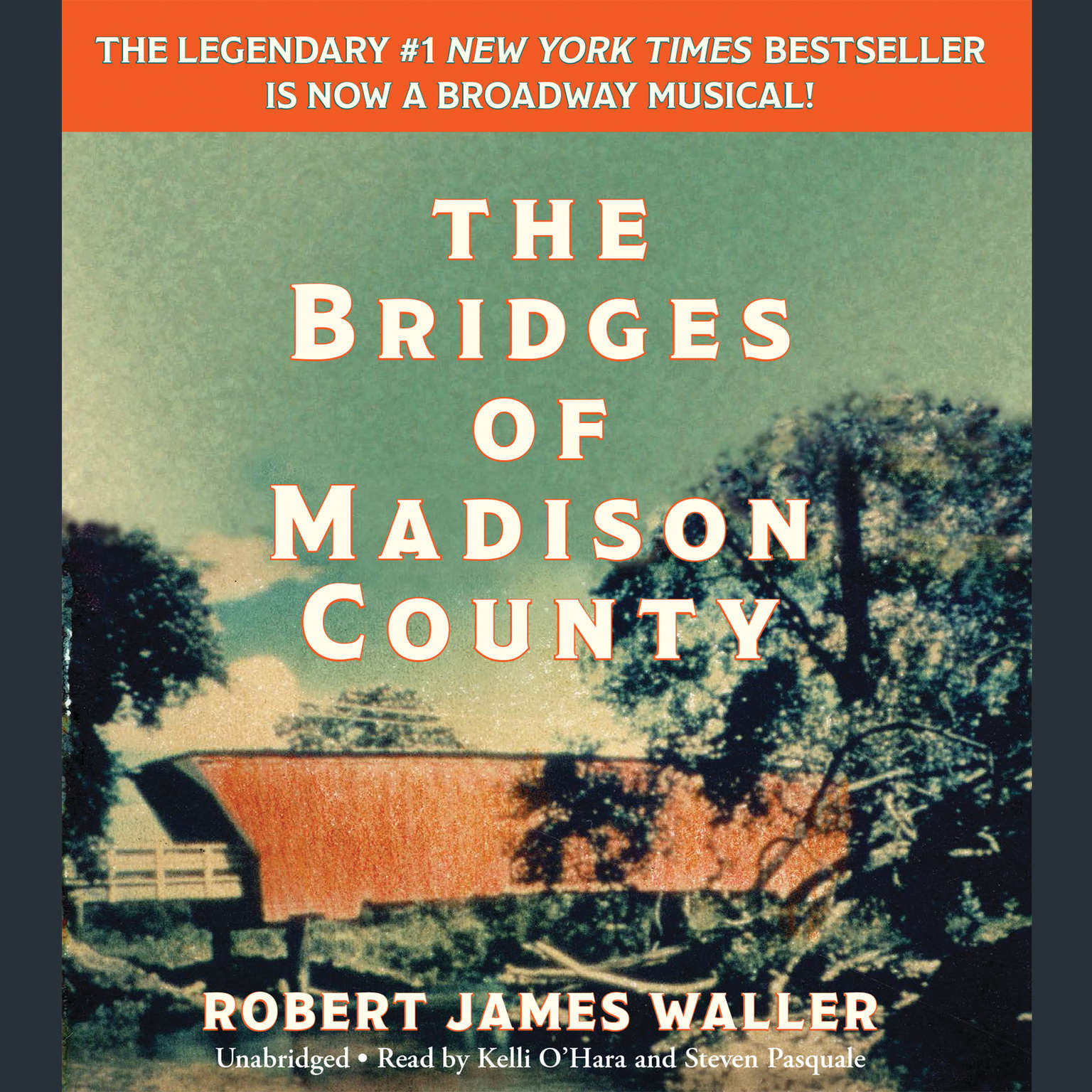 Printable The Bridges of Madison County Audiobook Cover Art