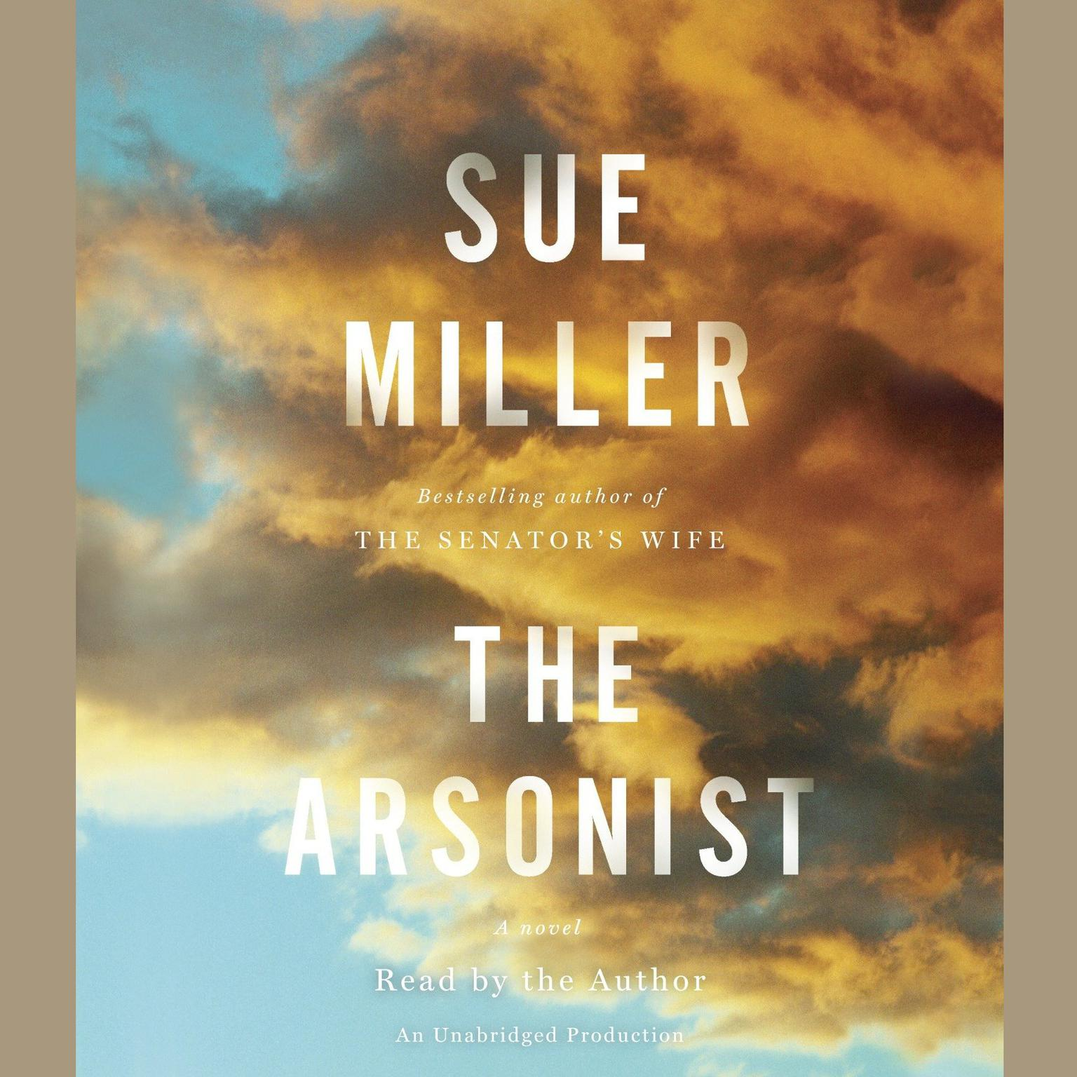 Printable The Arsonist: A novel Audiobook Cover Art