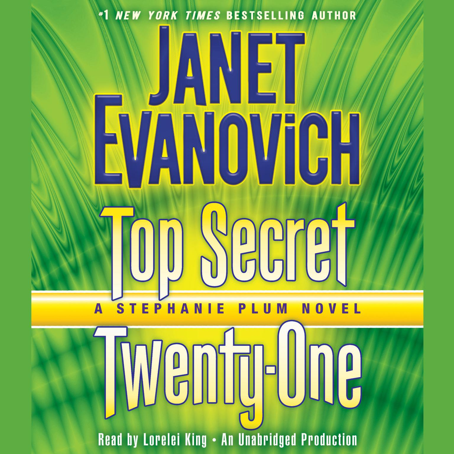 Printable Top Secret Twenty-One: A Stephanie Plum Novel Audiobook Cover Art