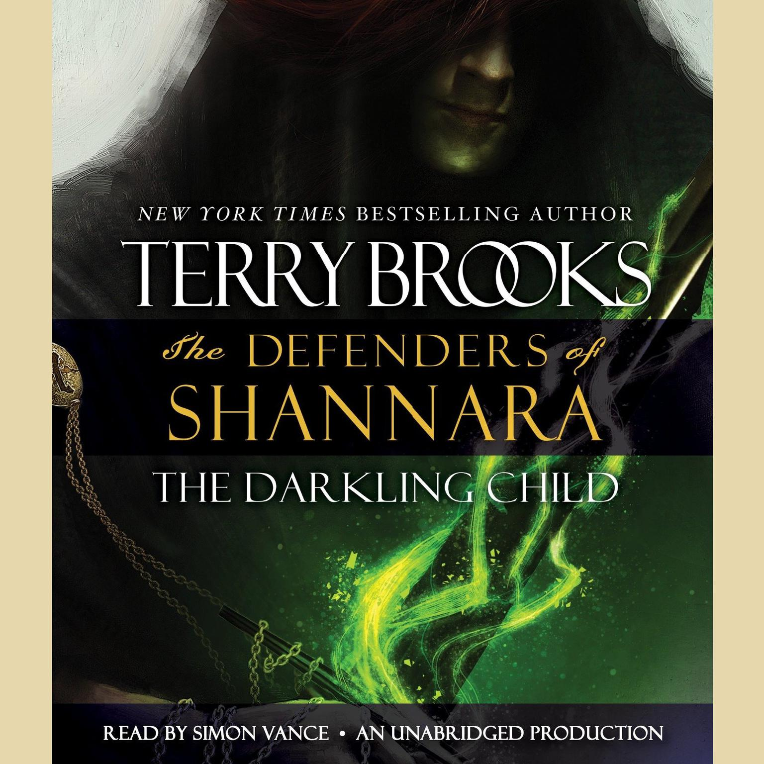 Printable The Darkling Child: The Defenders of Shannara Audiobook Cover Art