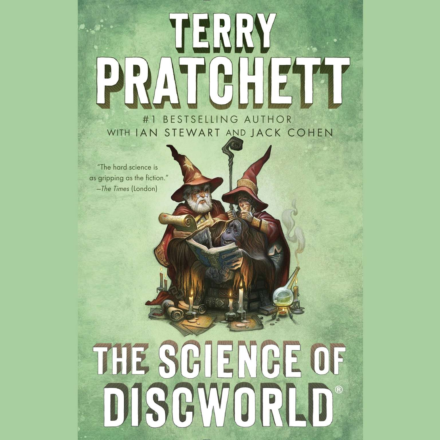 Printable The Science of Discworld: A Novel Audiobook Cover Art